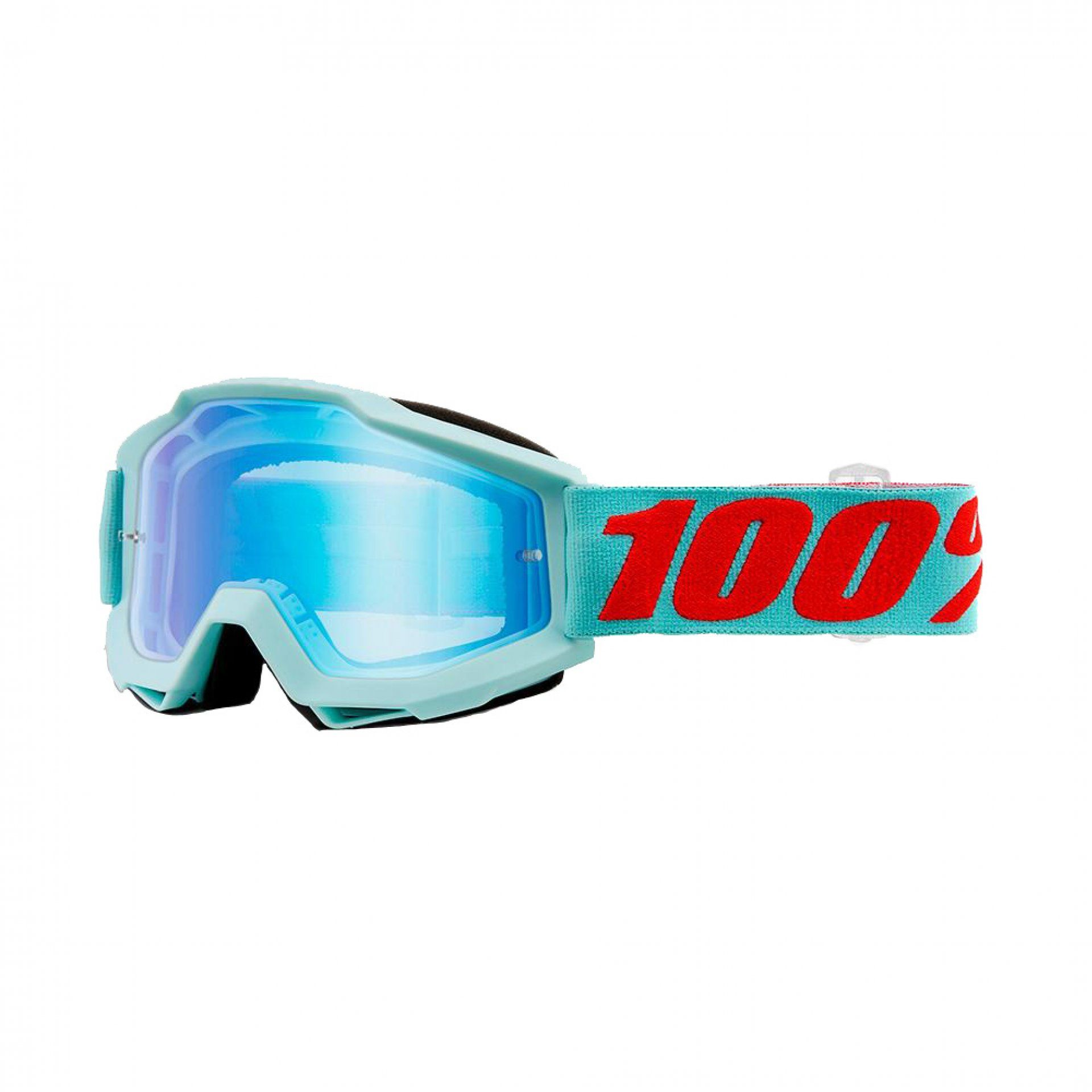 GOGLE ROWEROWE 100% ACCURI MALDIVES|MIRROR BLUE FLASH 1