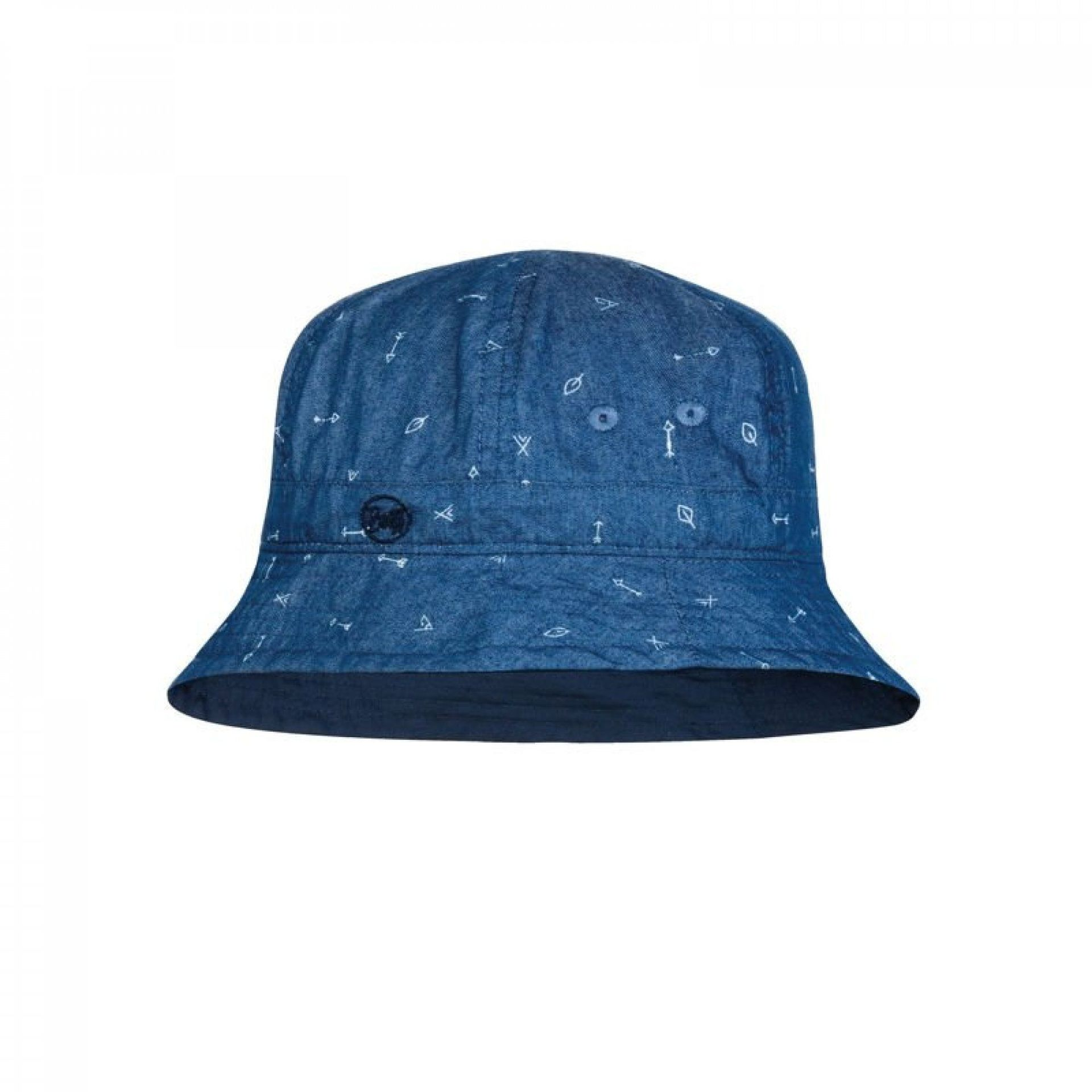 KAPELUSZ BUFF BUCKET HAT ARROWS DENIM