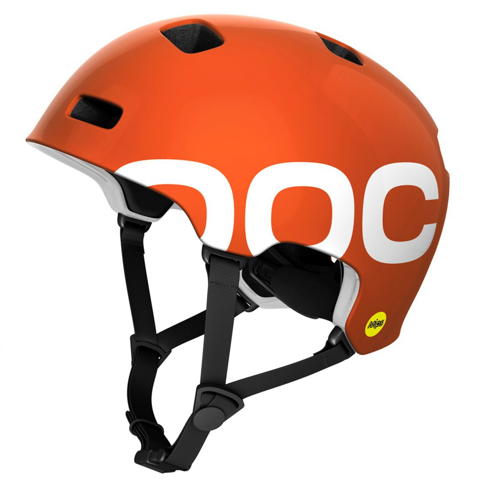 KASK POC CRANE MIPS IRON ORANGE