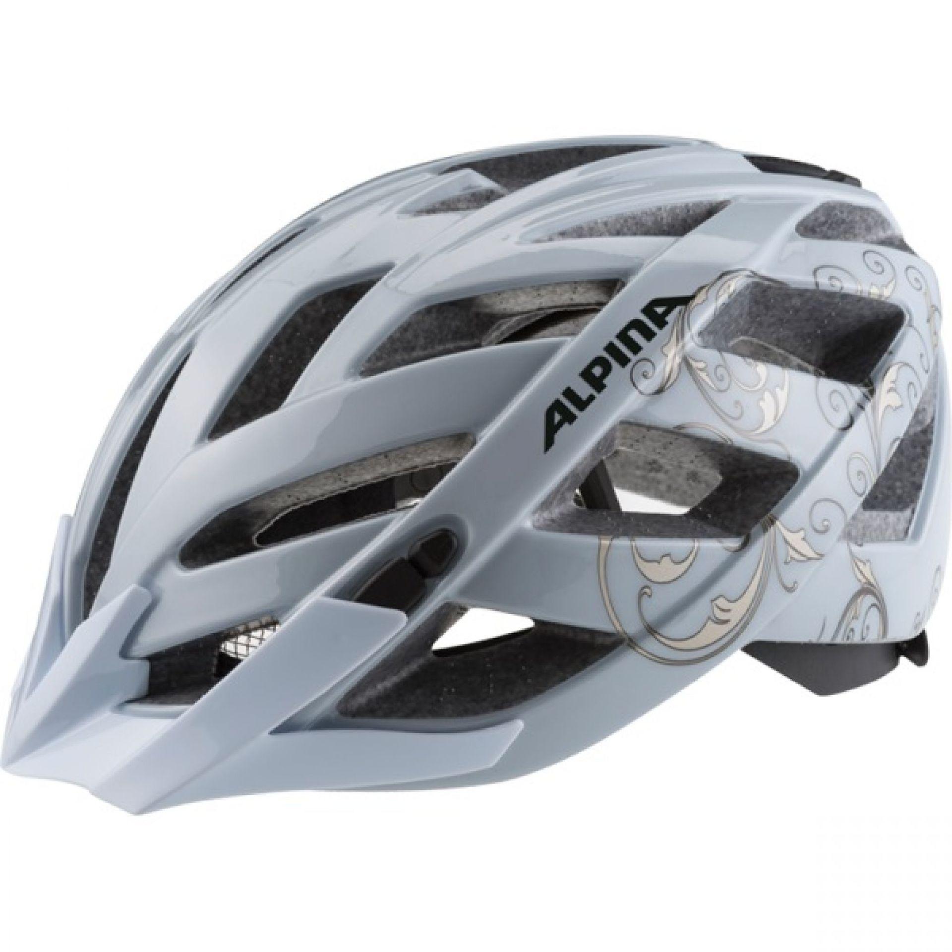 Kask rowerowy Alpina Panoma szary
