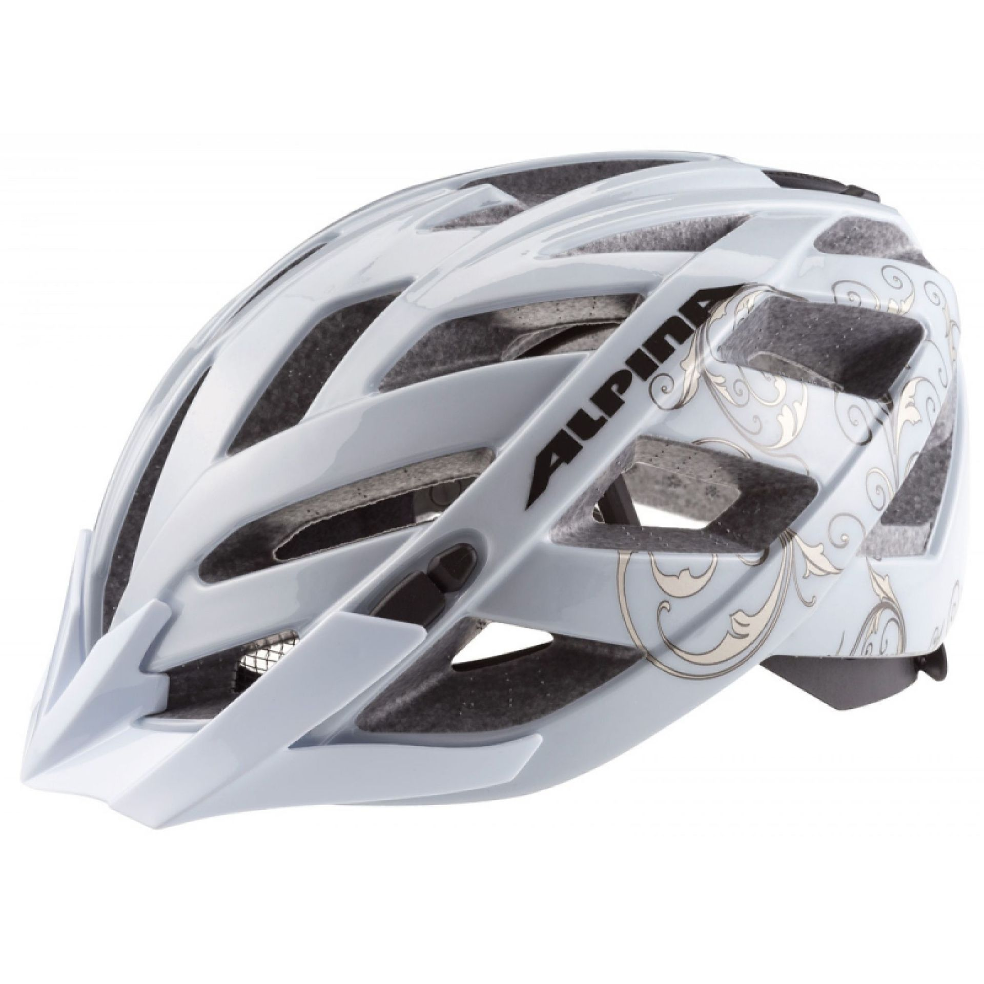 KASK ROWEROWY ALPINA PANOMA white-prosecco