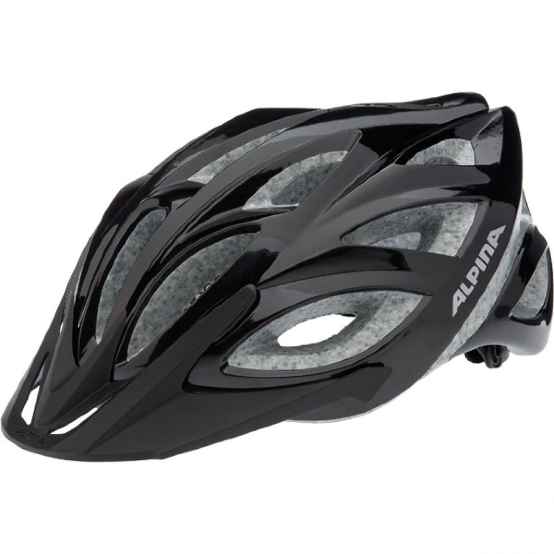 Kask rowerowy Alpina Skid 2,0 czarny