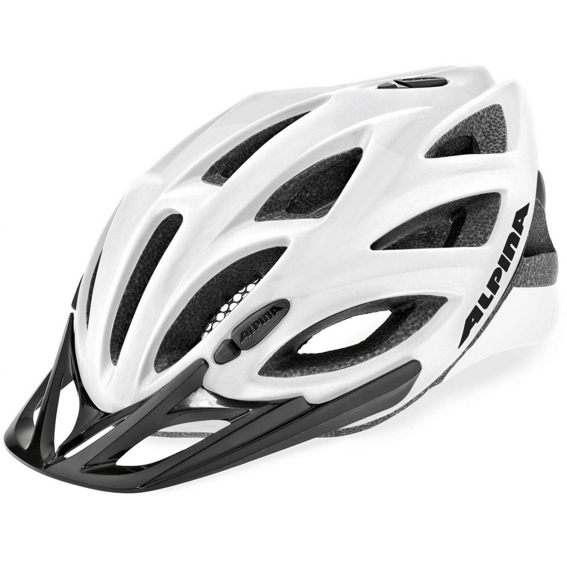 Kask rowerowy Alpina Spice Light biało czarny