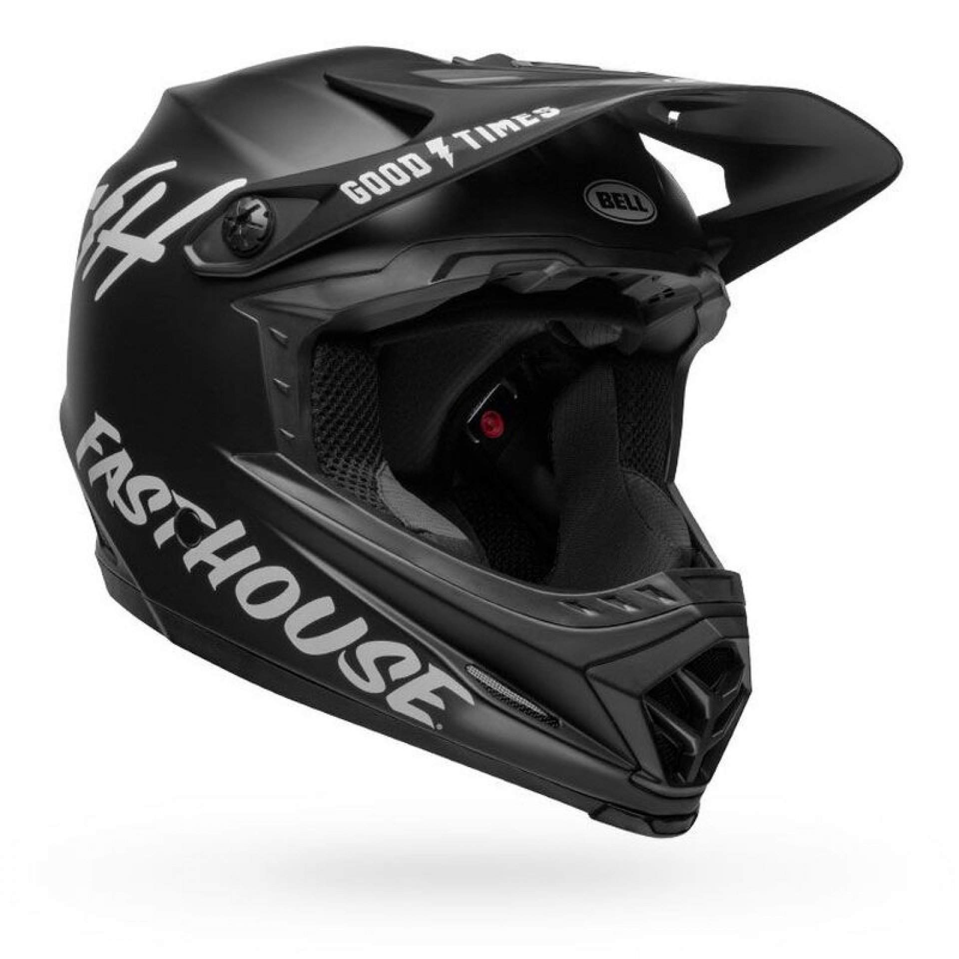 KASK ROWEROWY BELL FULL-9 FUSION MIPS FASTHOUSE MATTE BLACK|WHITE 6
