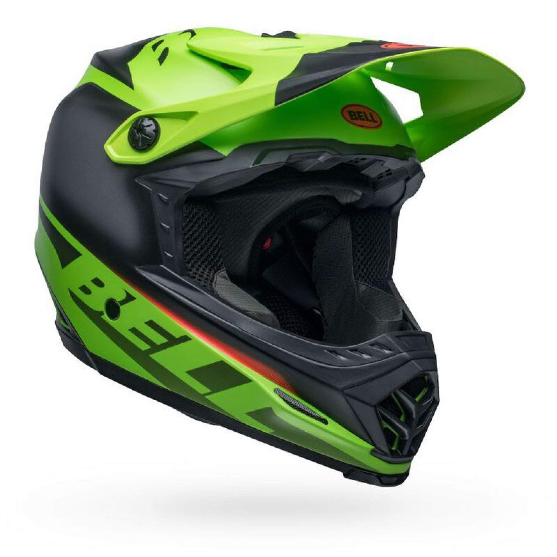 KASK ROWEROWY BELL FULL-9 FUSION MIPS MATTE GREEN|BLACK|CRIMSON 2