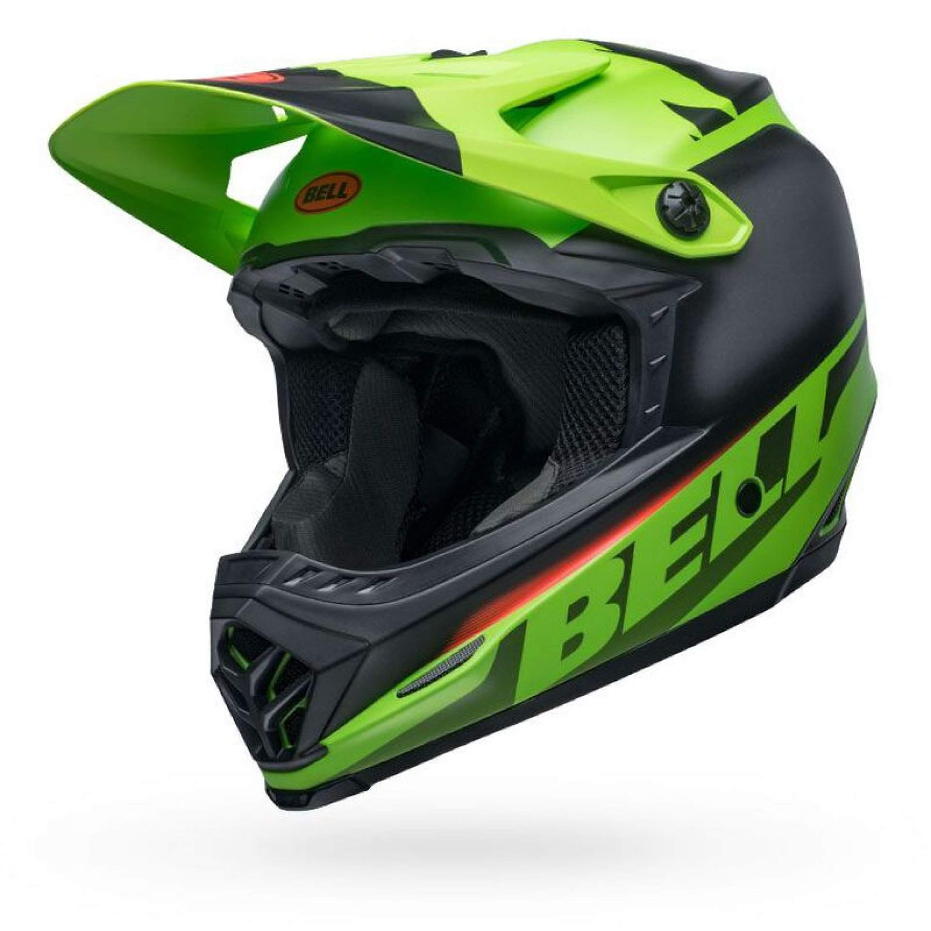 KASK ROWEROWY BELL FULL-9 FUSION MIPS MATTE GREEN|BLACK|CRIMSON 3