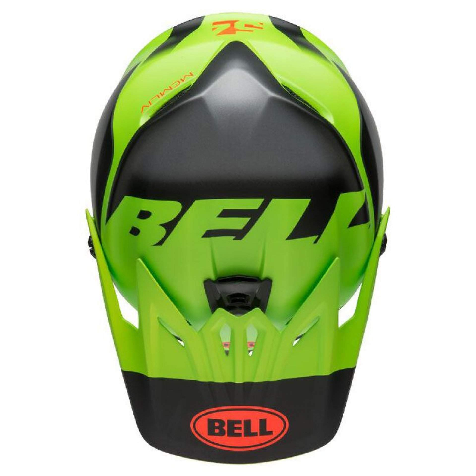 KASK ROWEROWY BELL FULL-9 FUSION MIPS MATTE GREEN|BLACK|CRIMSON 6