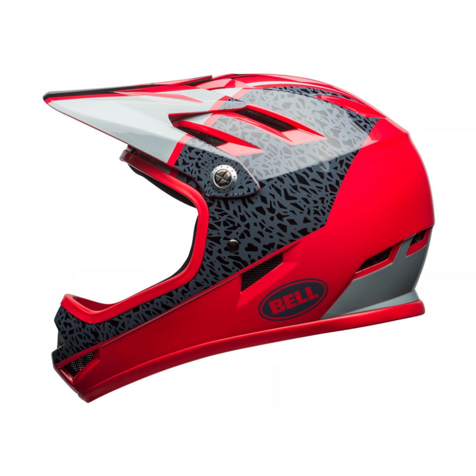 KASK ROWEROWY BELL SANCTION GLOSS HIBISCUS|SMOKE REPARATION 2