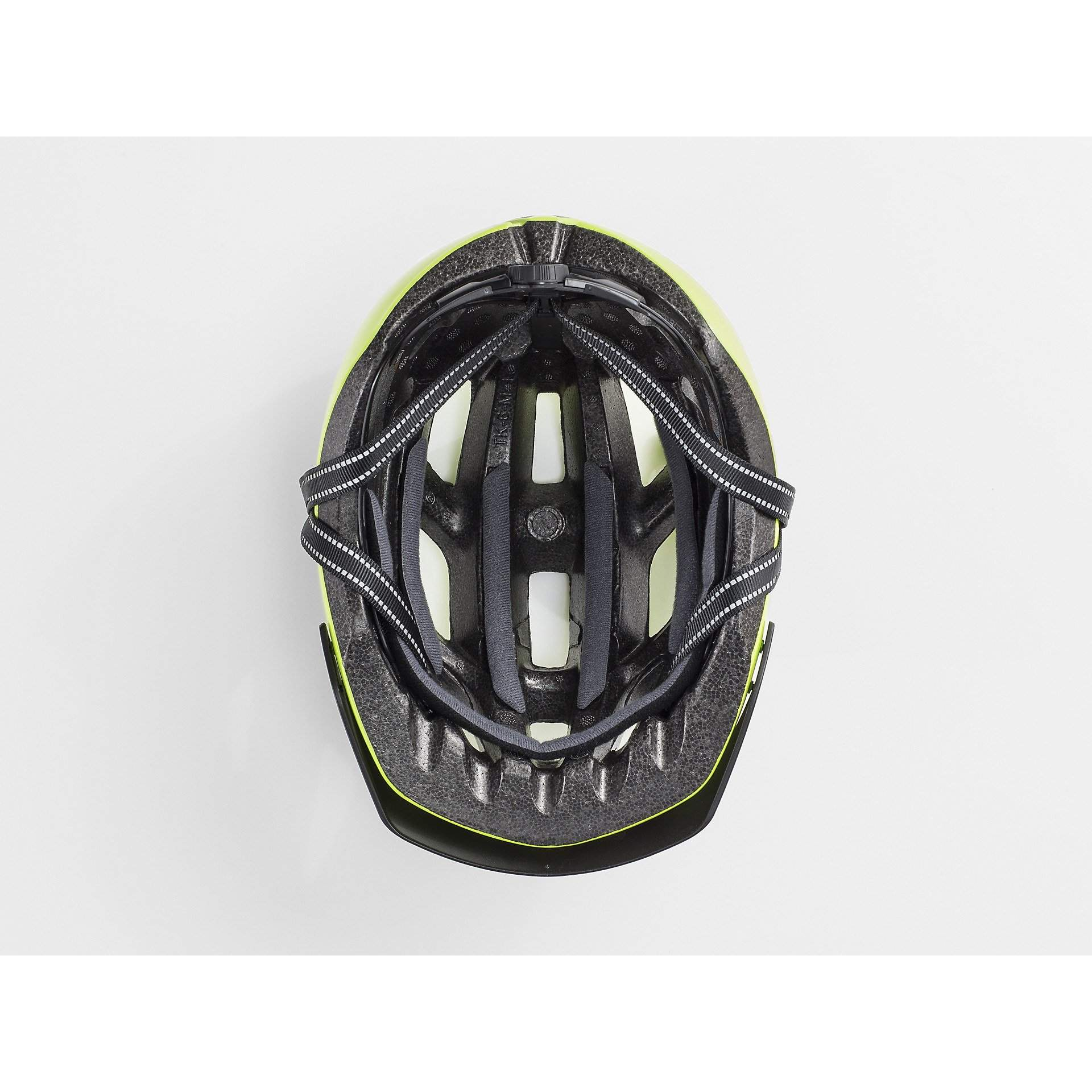 KASK ROWEROWY BONTRAGER SOLSTICE VISIBLE YELLOW W ŚRODKU