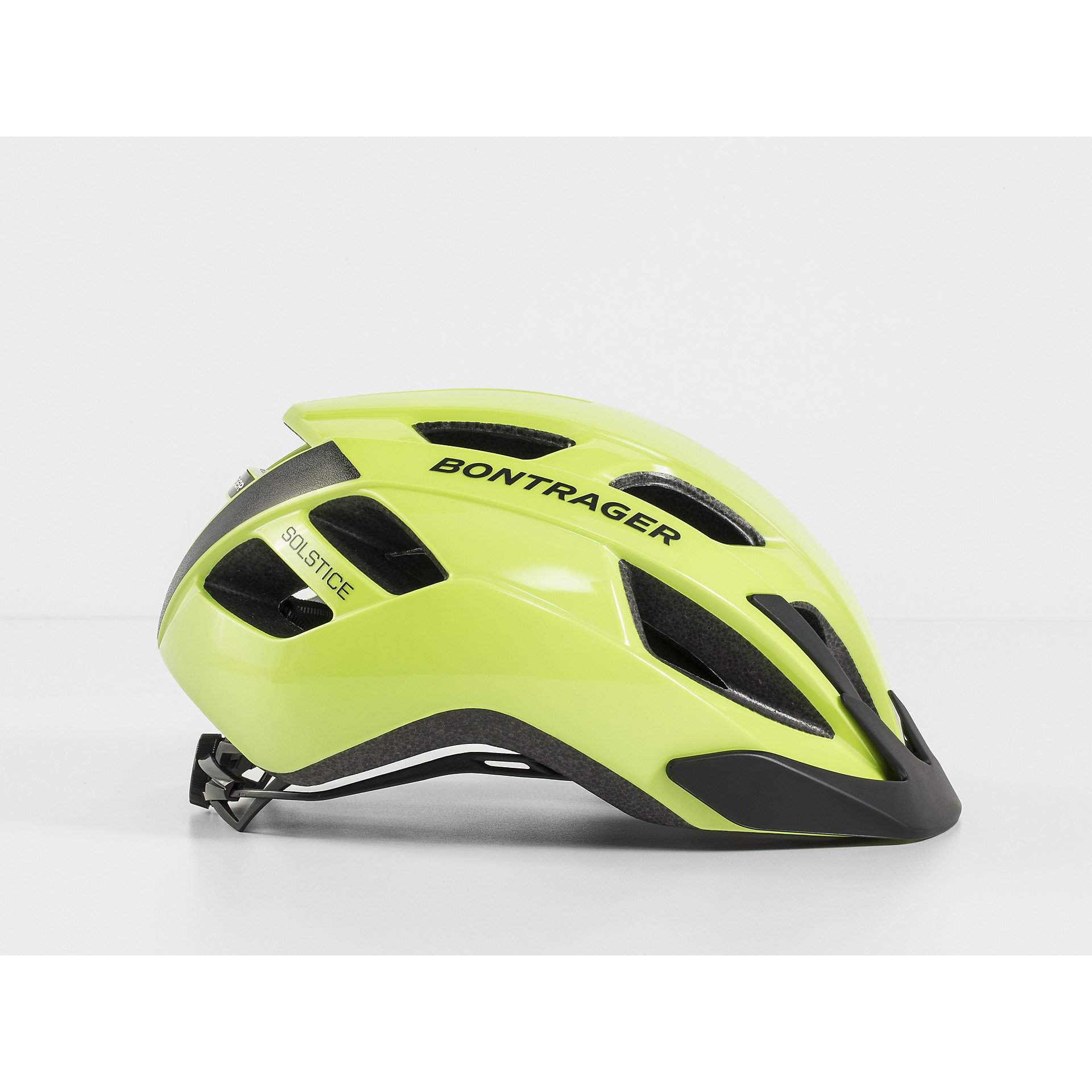 KASK ROWEROWY BONTRAGER SOLSTICE VISIBLE YELLOW Z BOKU