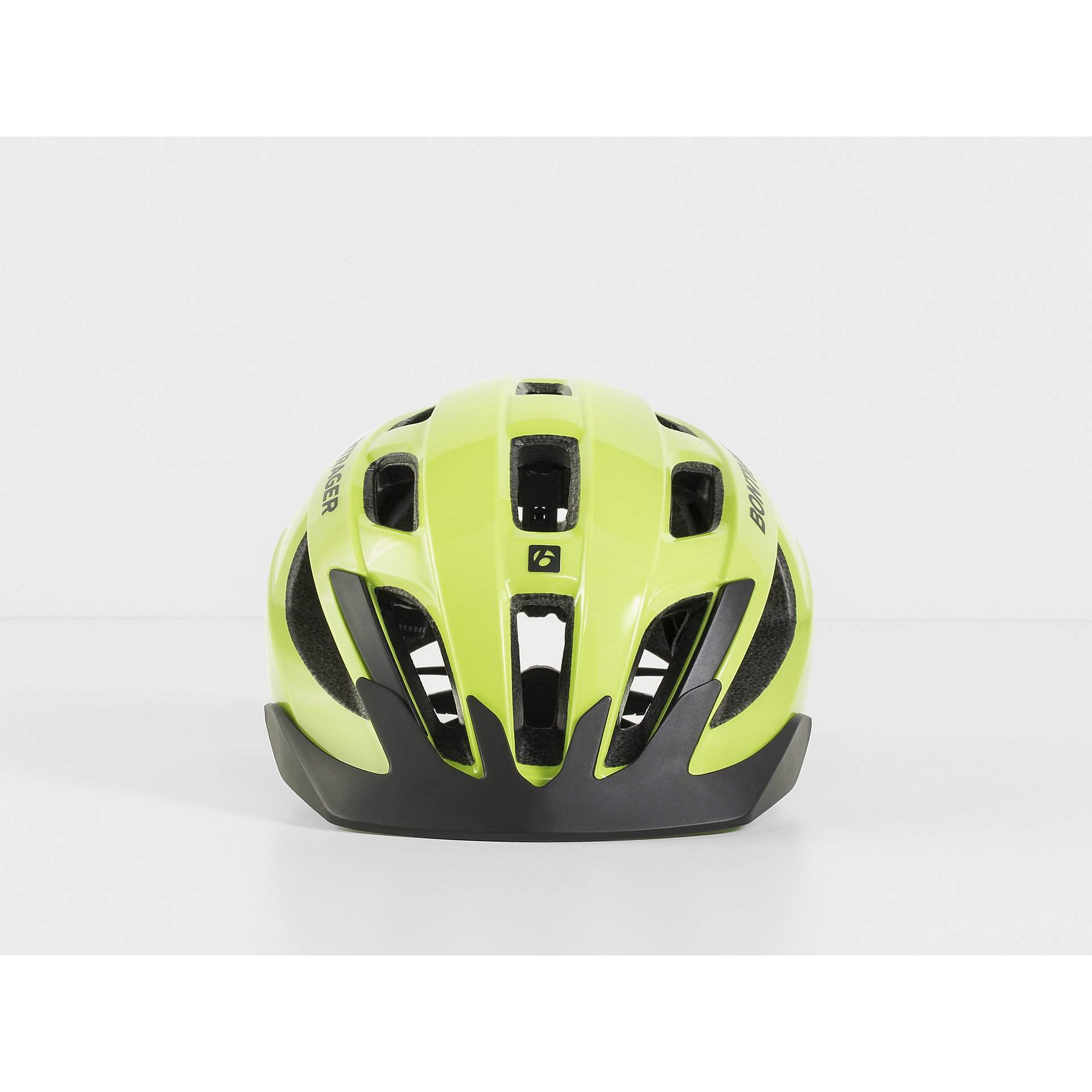 KASK ROWEROWY BONTRAGER SOLSTICE VISIBLE YELLOW Z PRZODU
