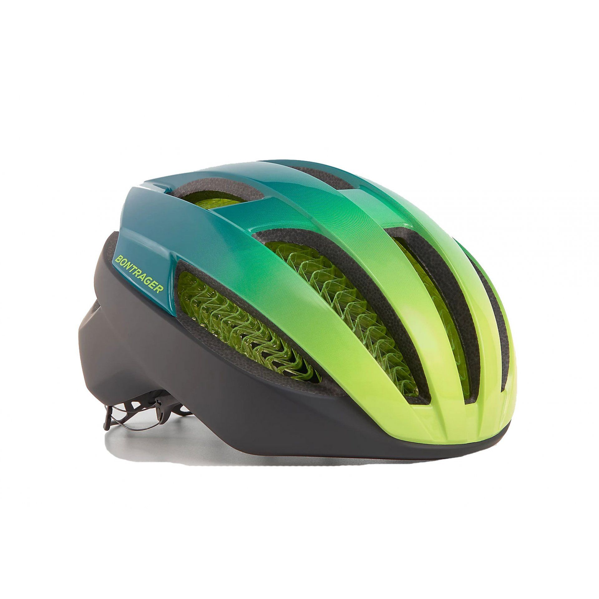 KASK ROWEROWY BONTRAGER SPECTER WAVECEL YELLOW VISIBILITY|TEAL
