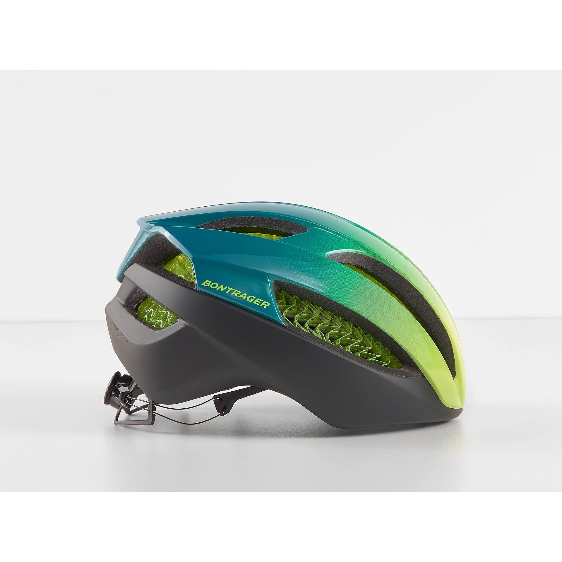 KASK ROWEROWY BONTRAGER SPECTER WAVECEL YELLOW VISIBILITY|TEAL Z BOKU