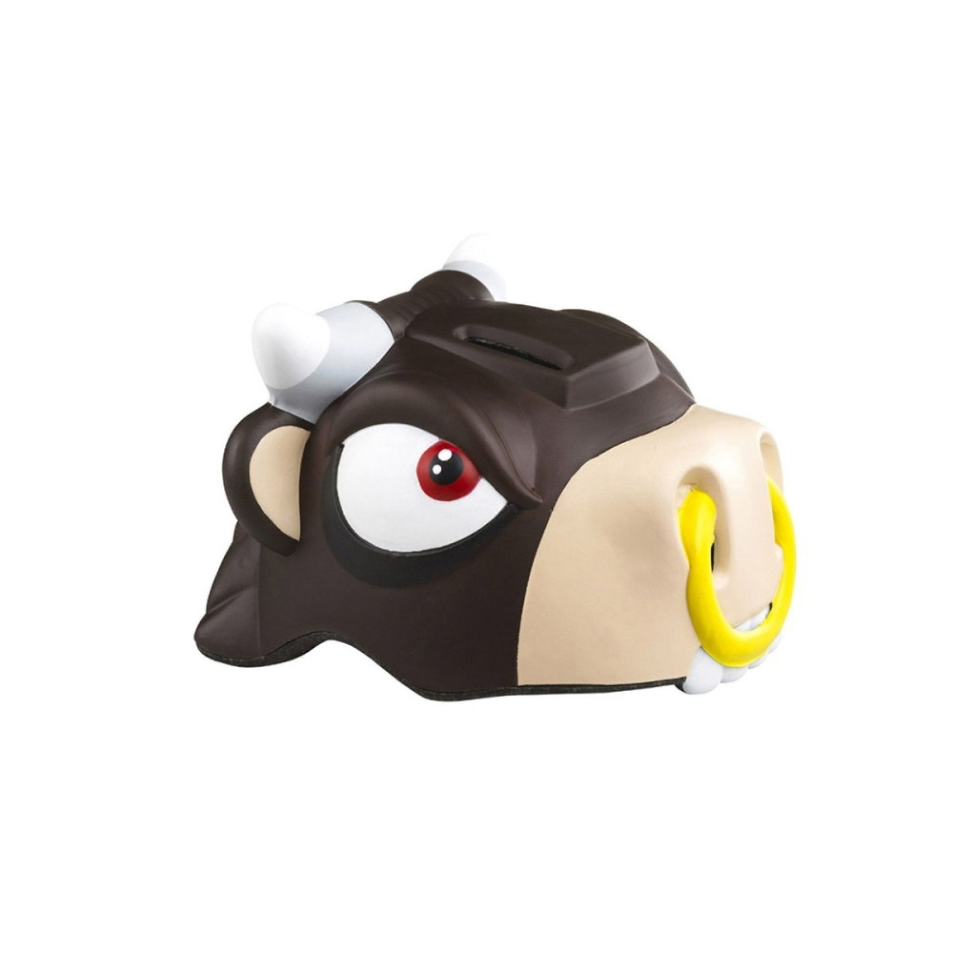 KASK ROWEROWY CRAZY SAFETY BROWN BULL