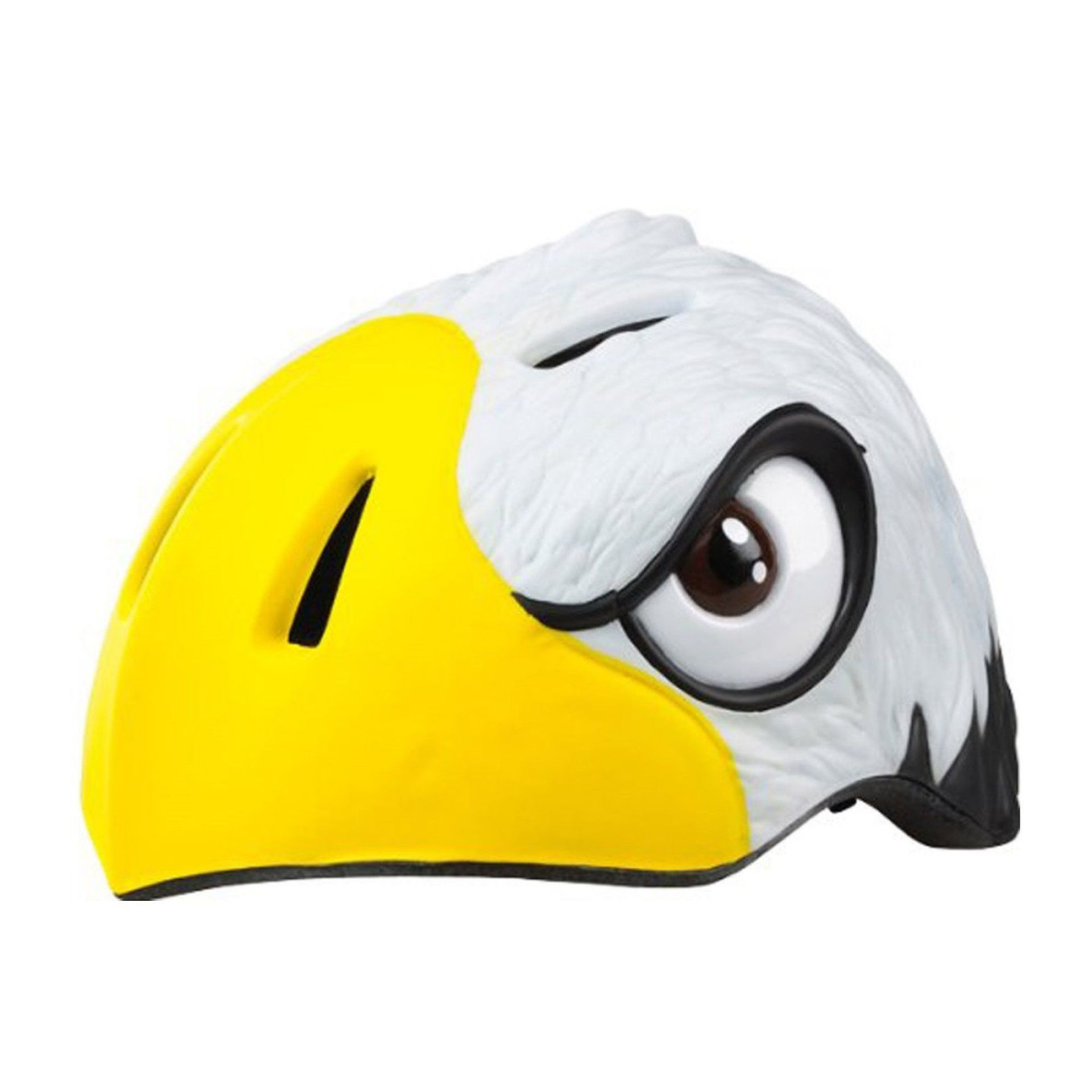 KASK ROWEROWY CRAZY SAFETY WHITE EAGLE