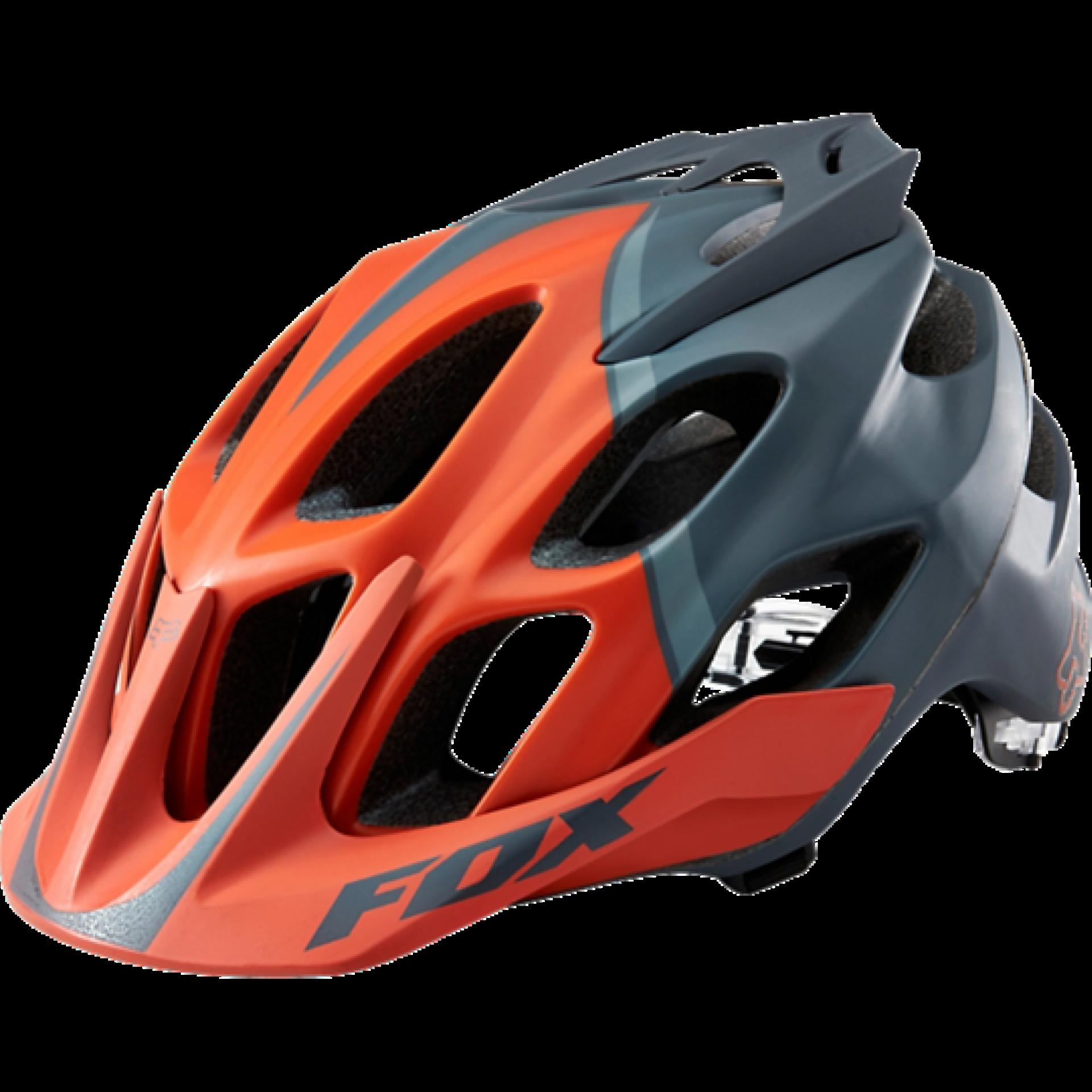 Kask rowerowy Foxhead Flux Helmet pomarańczowy przód