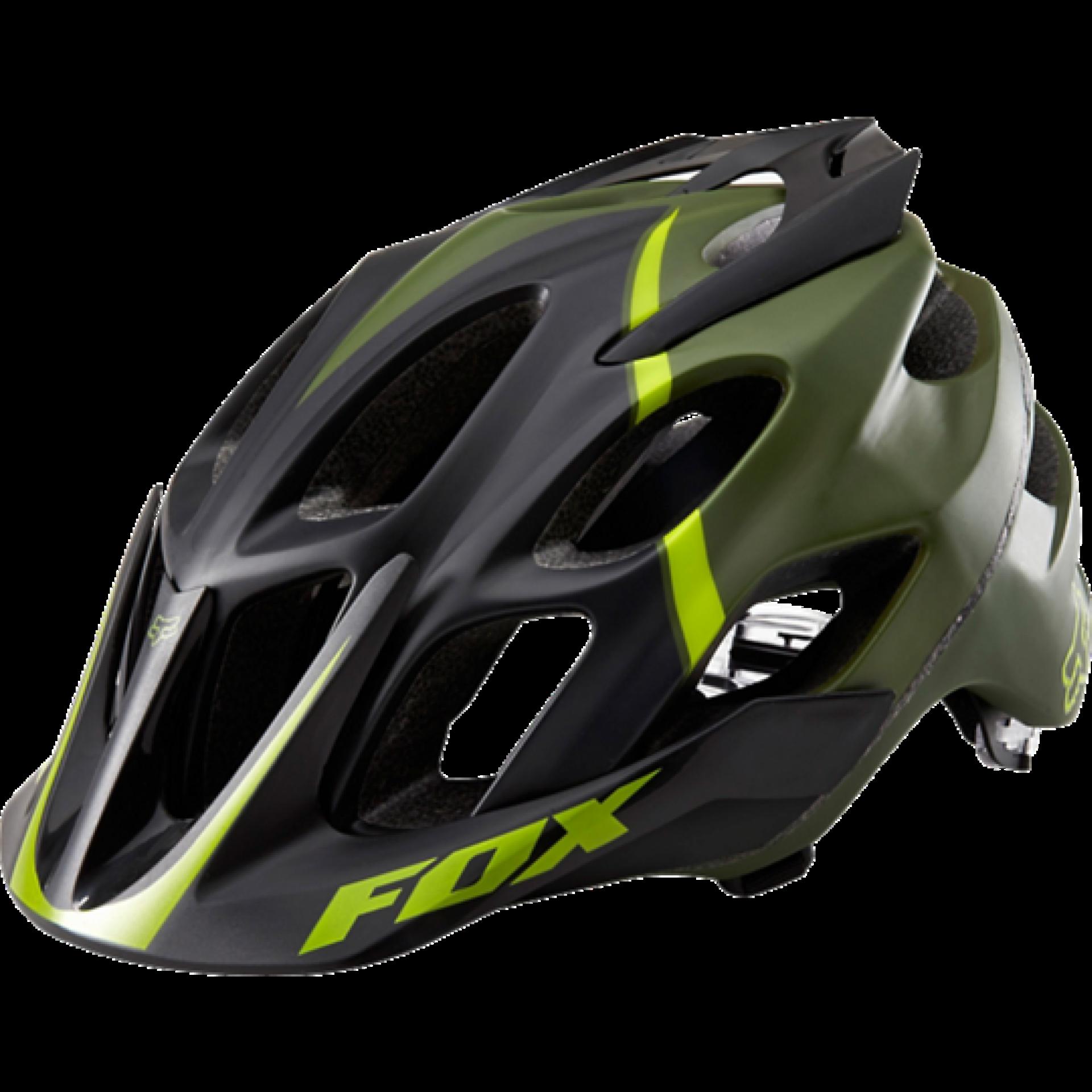 Kask rowerowy Foxhead Flux Helmet zielony przód