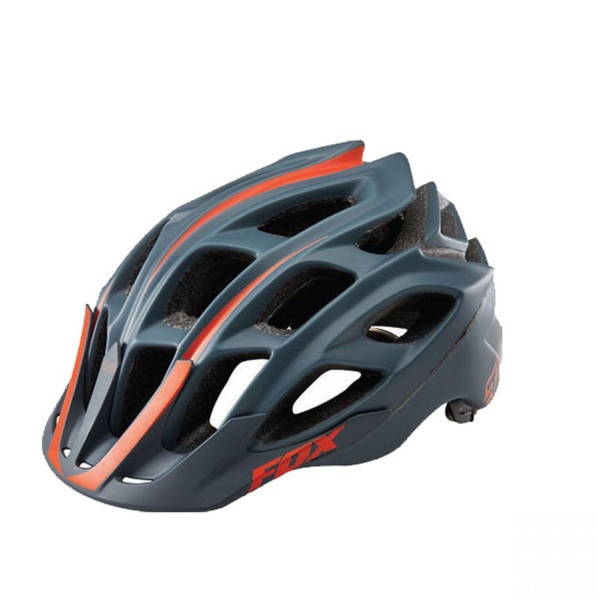 Kask rowerowy Foxhead Striker czarno pomarańczowy