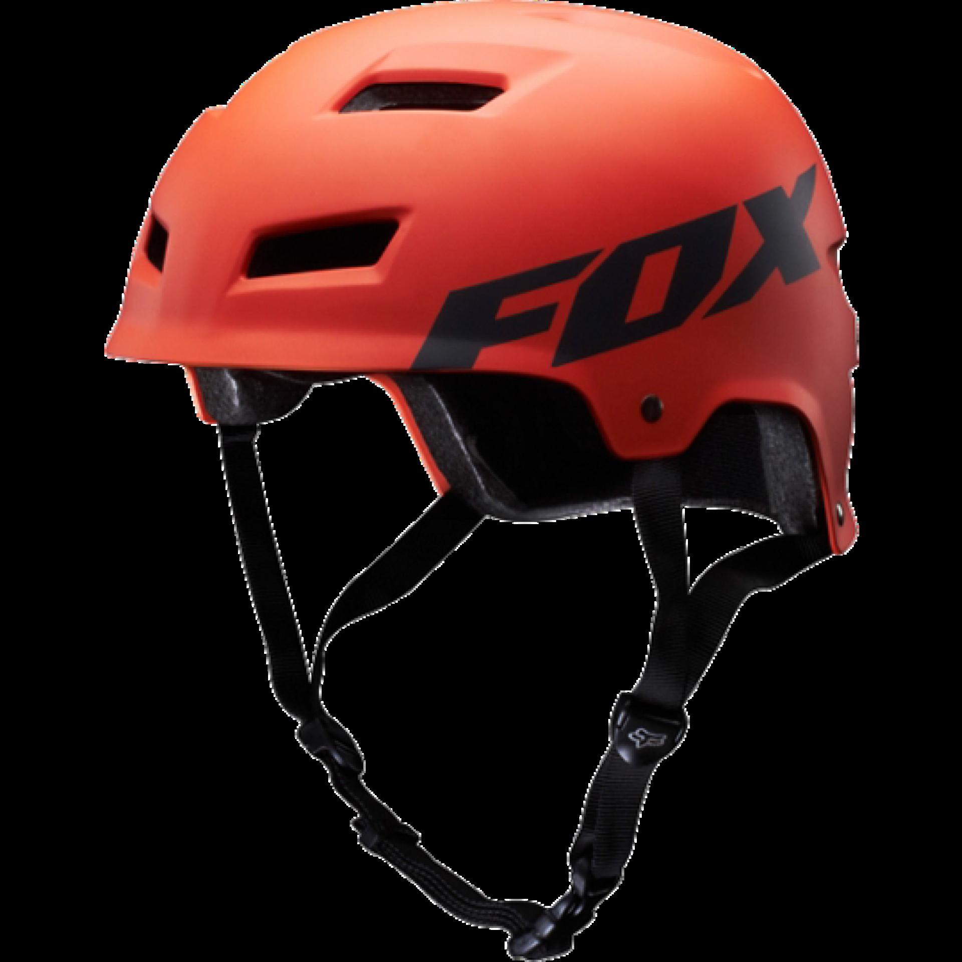 Kask rowerowy Foxhead Transition Hardshell Helmet pomarańczowy przód