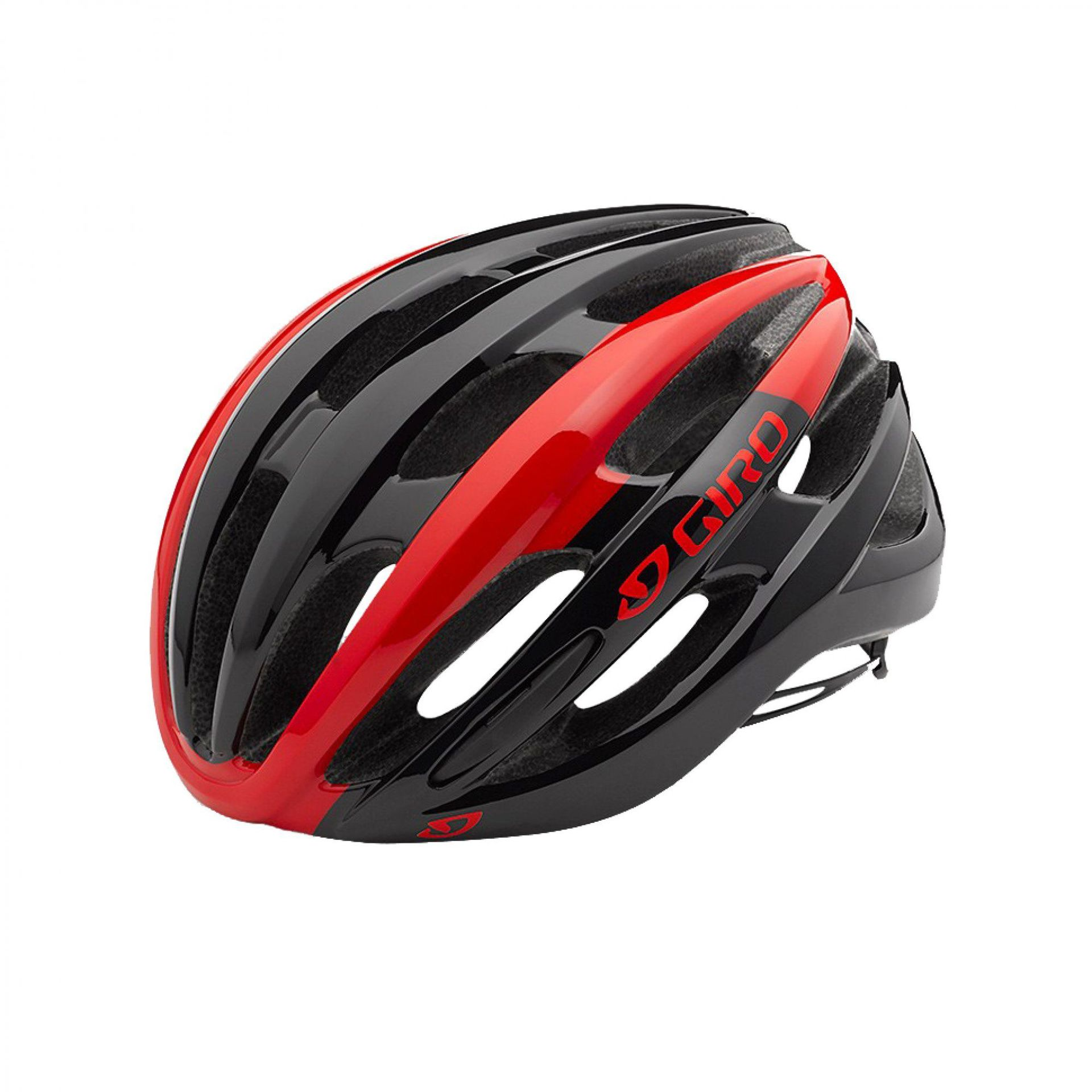 KASK ROWEROWY GIRO FORAY MIPS BRIGHT RED|BLACK