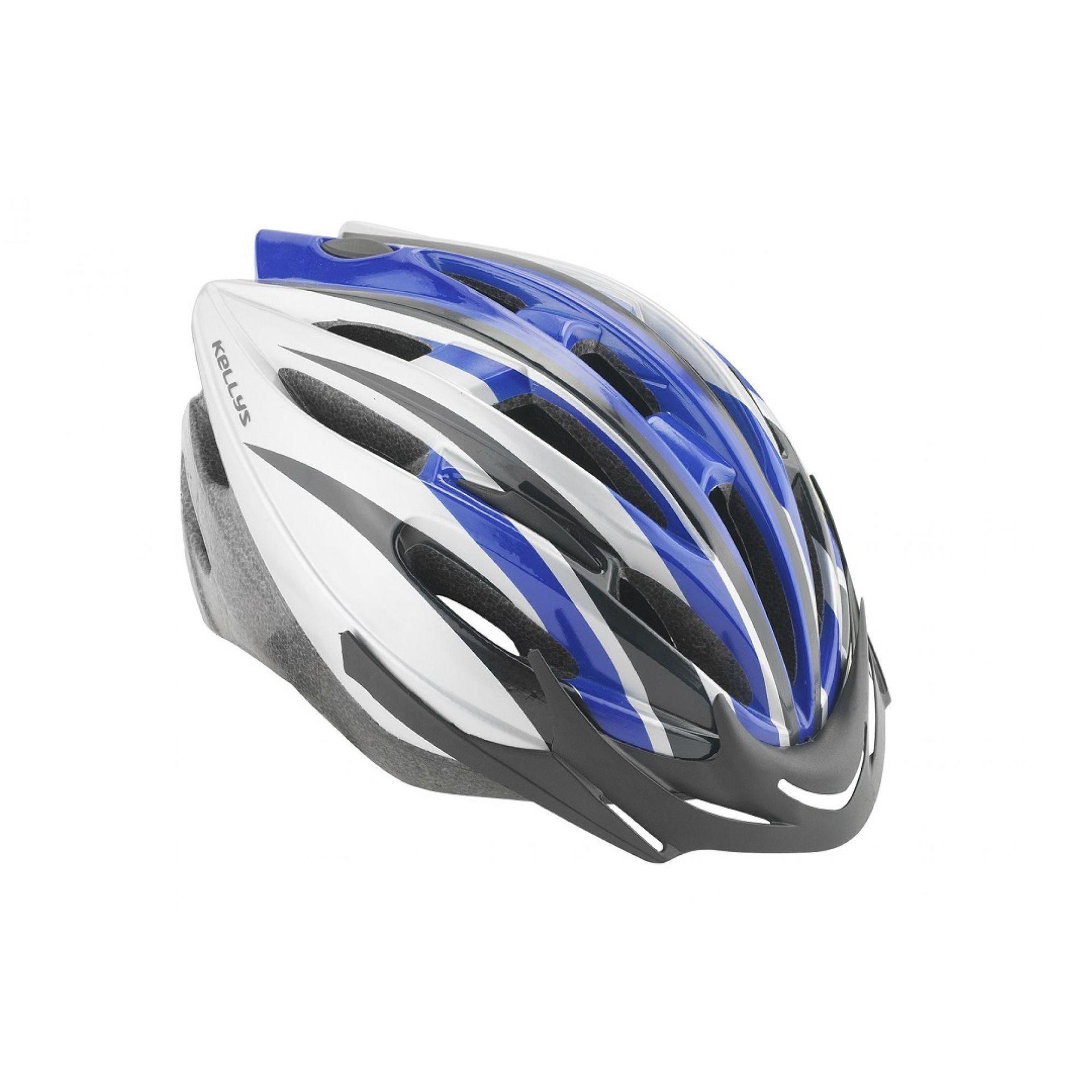 Kask rowerowy Kellys Access niebieski