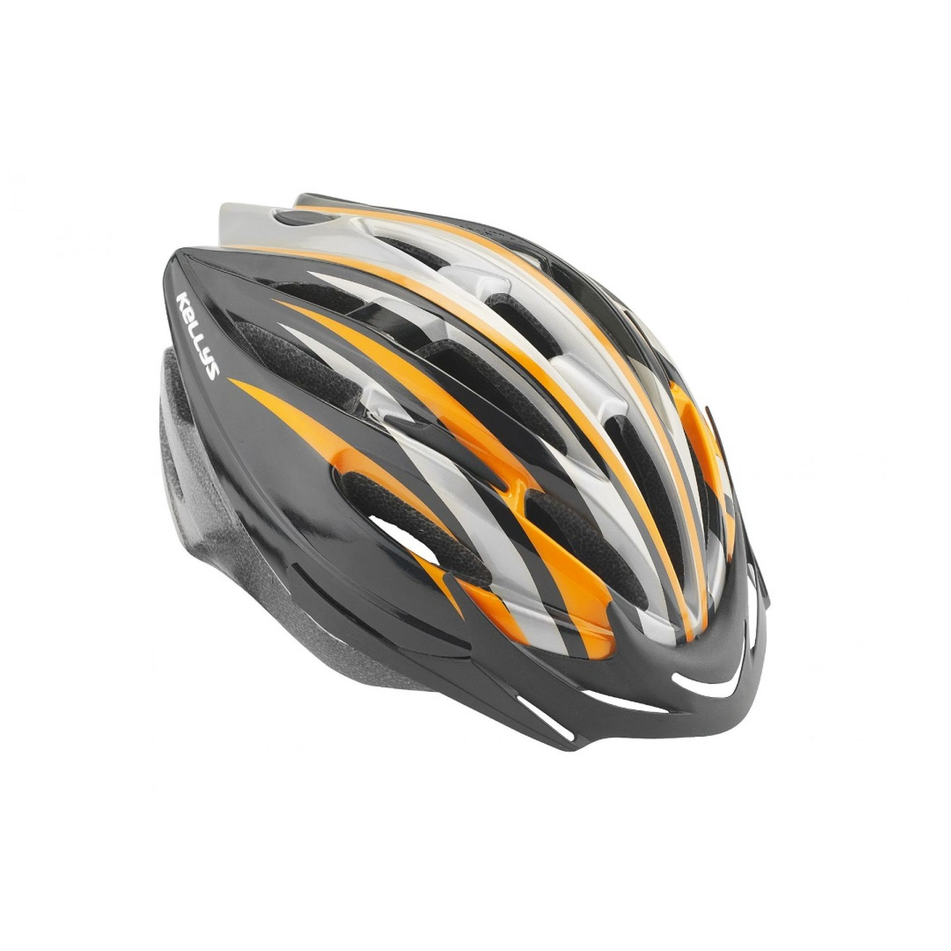 Kask rowerowy Kellys Access pomarańczowy