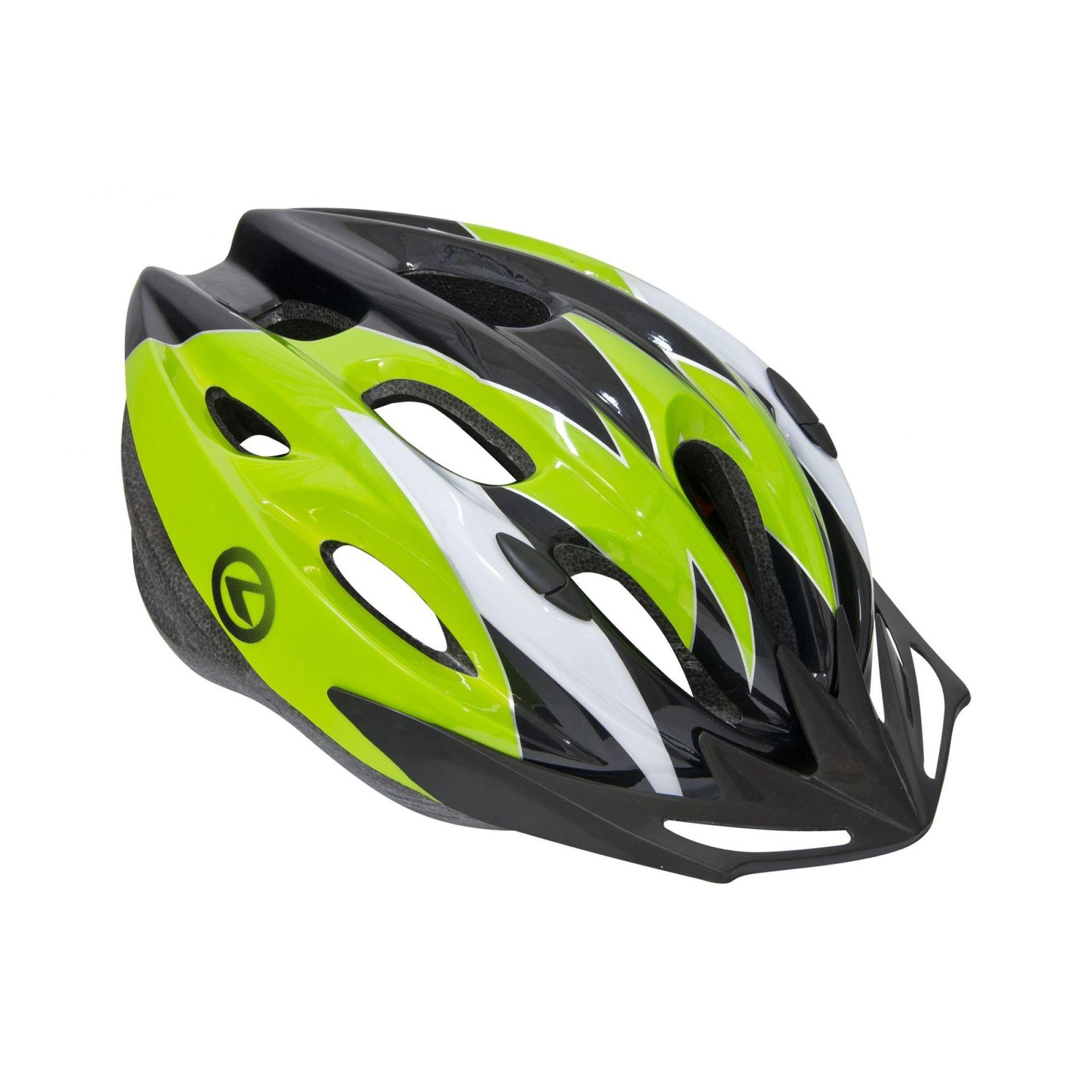 Kask rowery Kellys Blaze czarny zielony