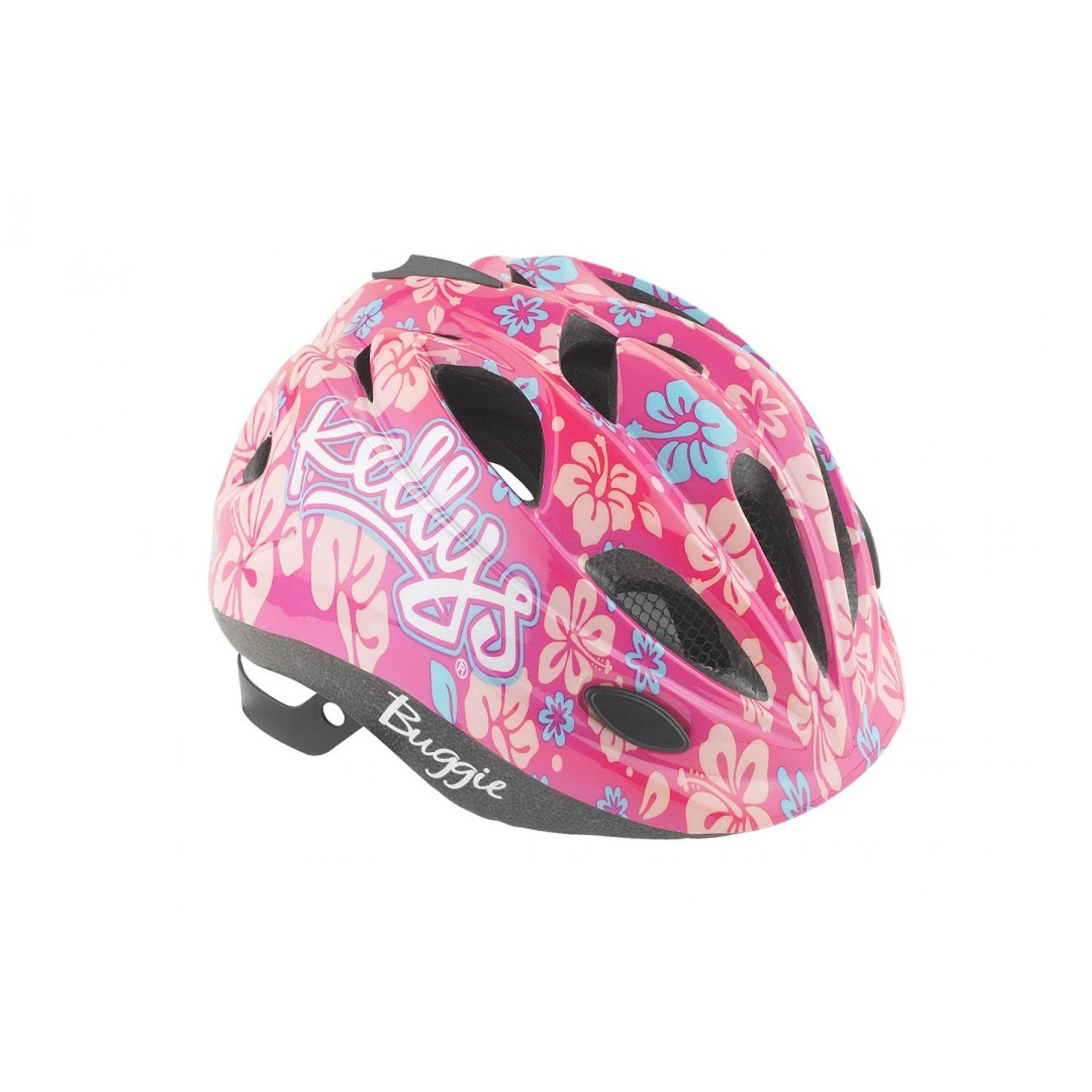 Kask rowerowy Kellys Buggie różowy