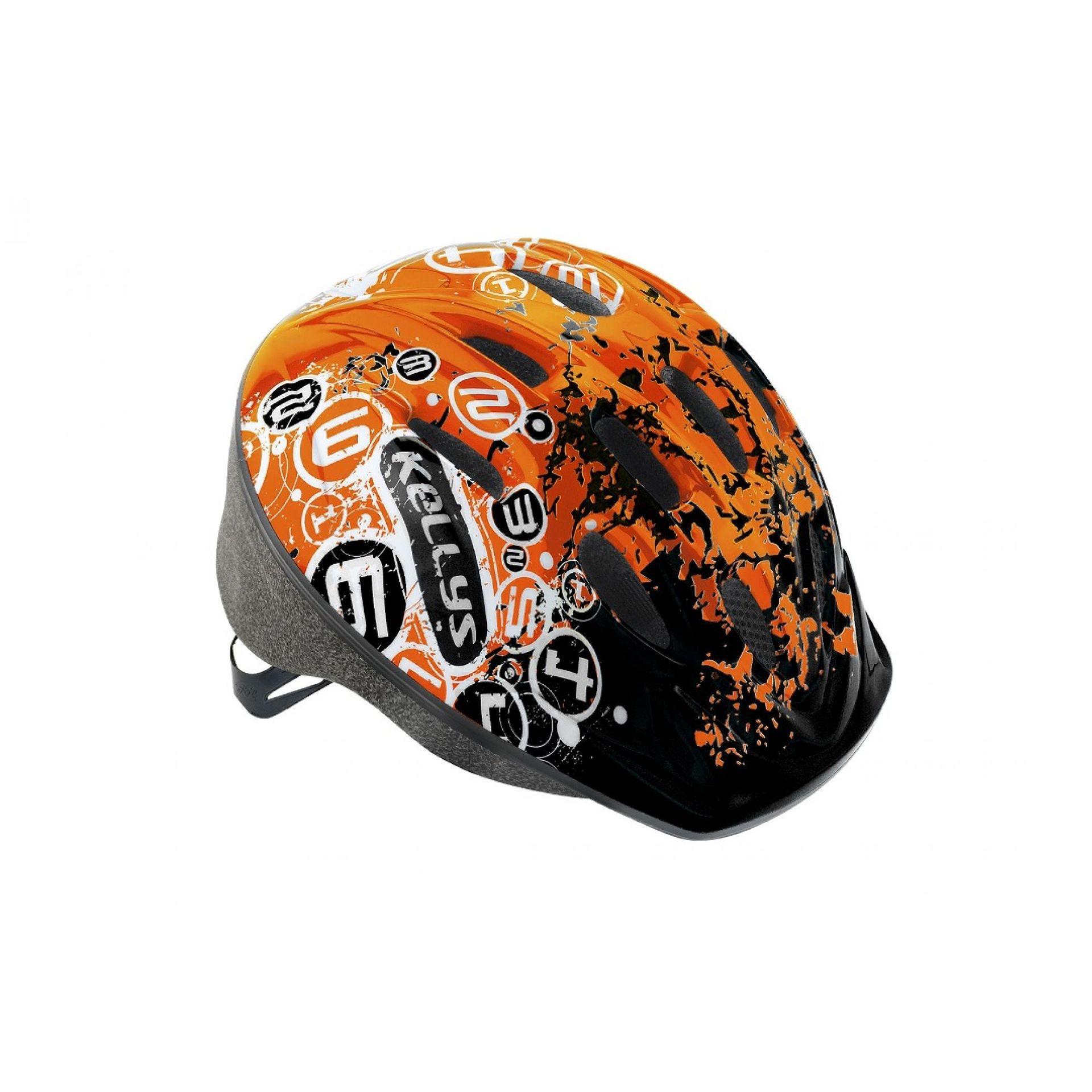 Kask rowerowy Kellys Mark pomarańczowy