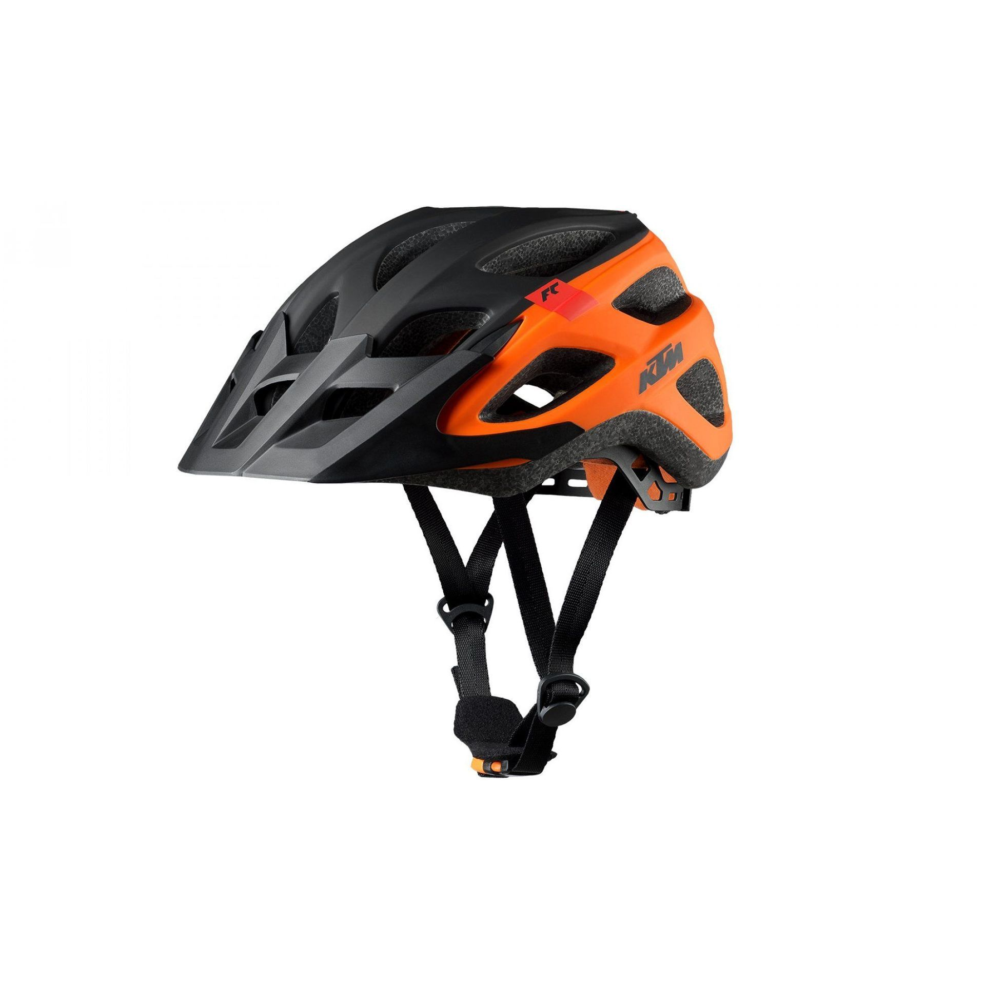 KASK ROWEROWY KTM FACTORY CHARACTER BLACK|ORANGE