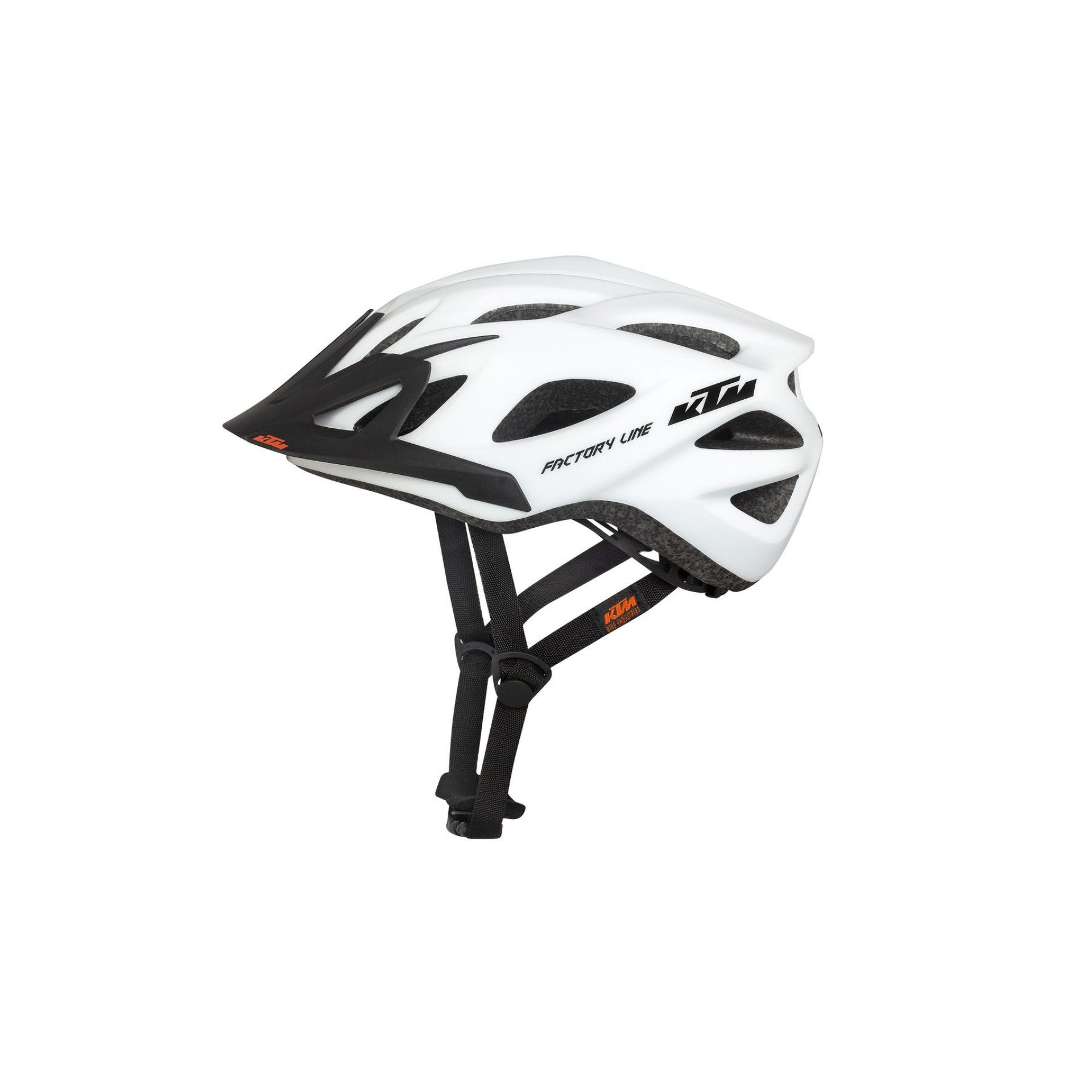 KASK ROWEROWY KTM FACTORY LINE WHITE 673152554 1