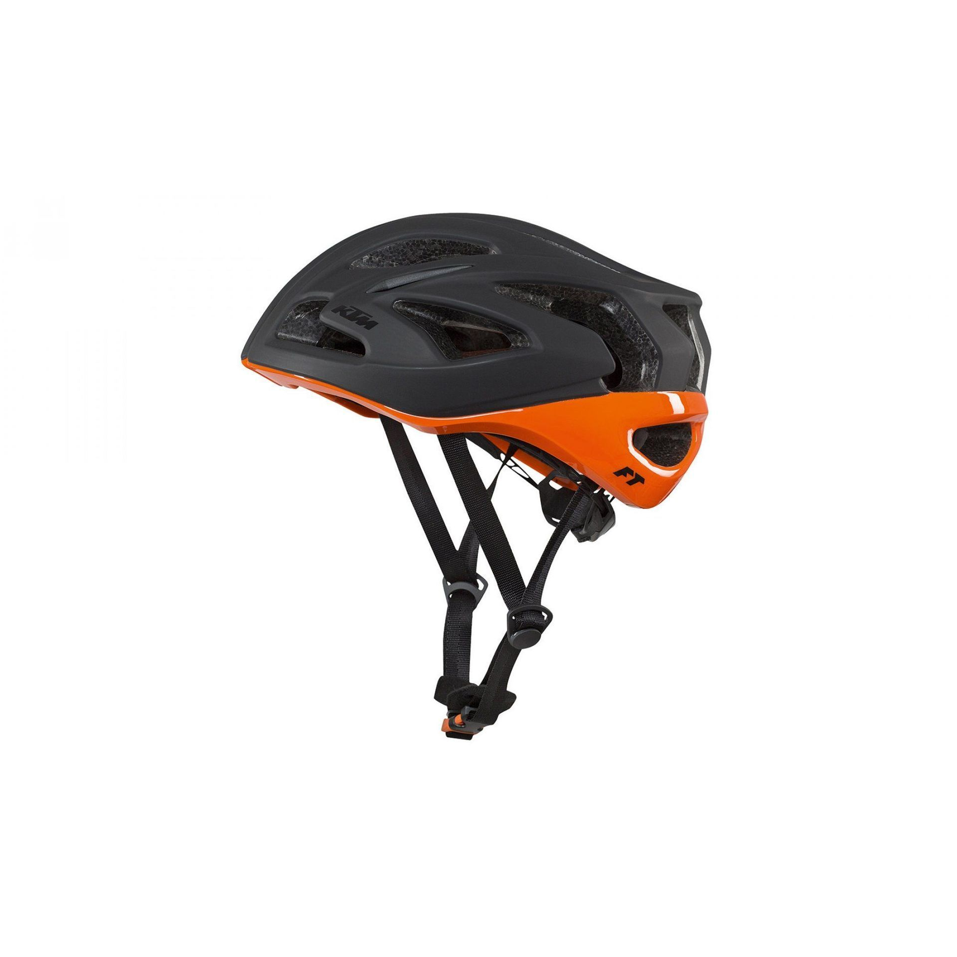 KASK ROWEROWY KTM FACTORY TEAM BLACK|ORANGE
