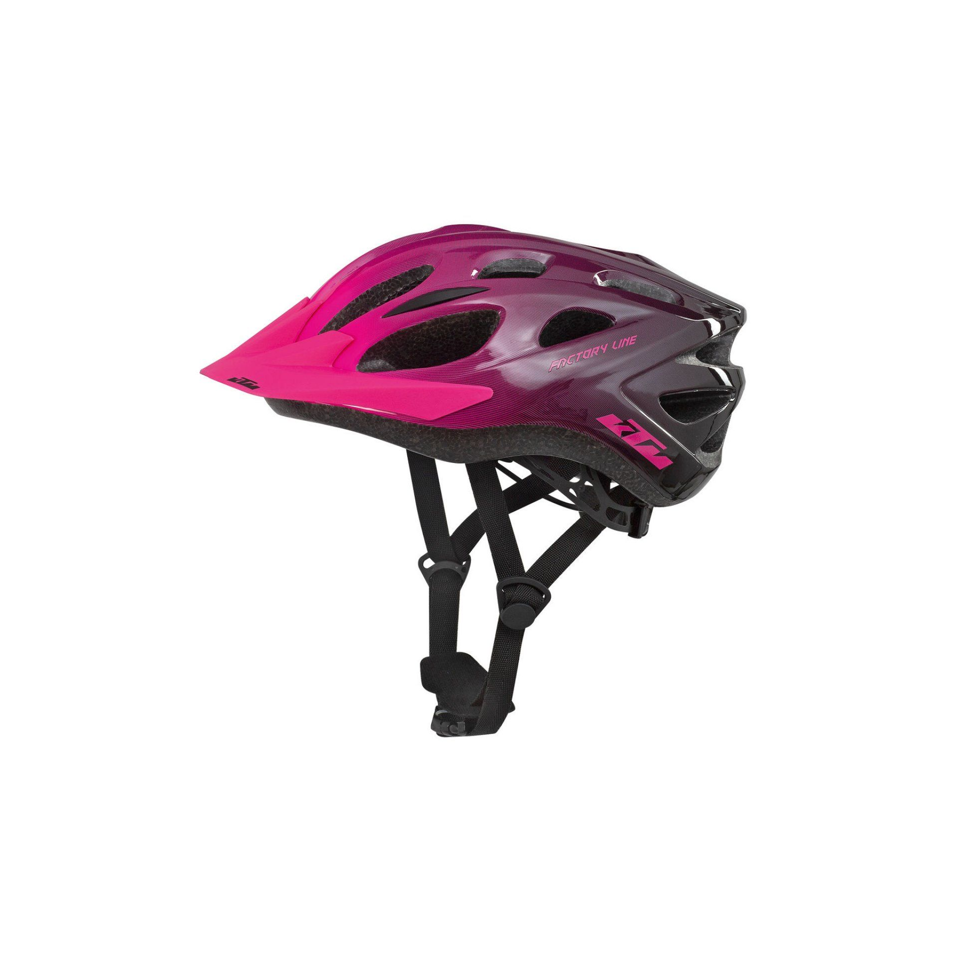 KASK ROWEROWY KTM FACTORY YOUTH PINK|BLACK 673162551 1