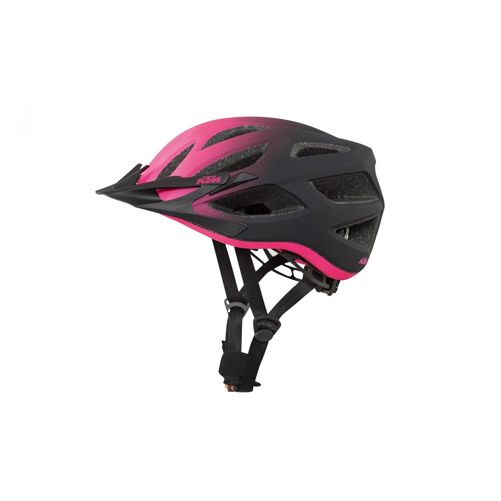KASK ROWEROWY KTM LADY CHARACTER BLACK BERRY