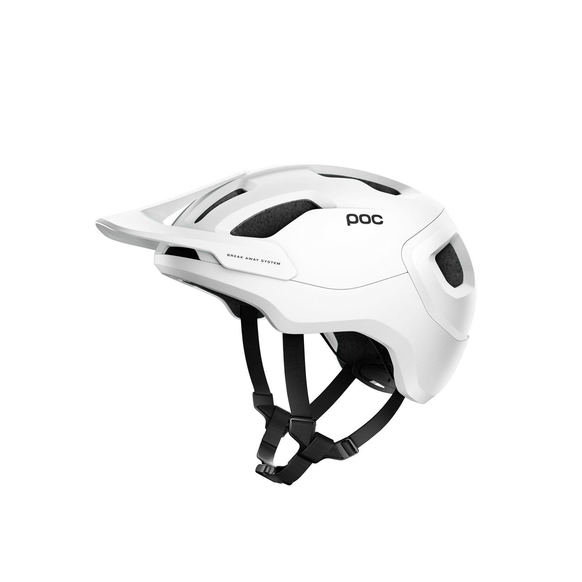 KASK ROWEROWY POC AXION SPIN MATT WHITE 1