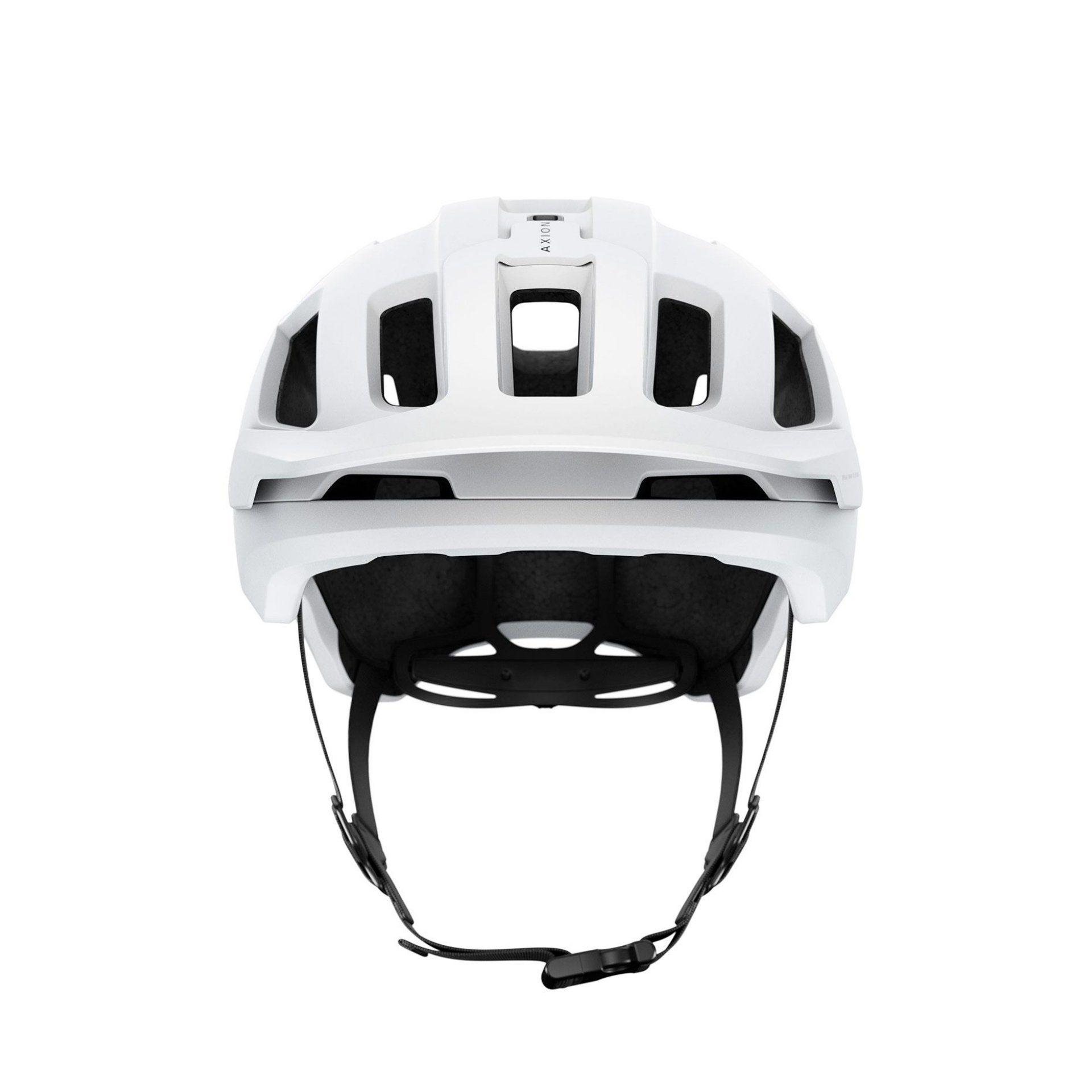 KASK ROWEROWY POC AXION SPIN MATT WHITE 2