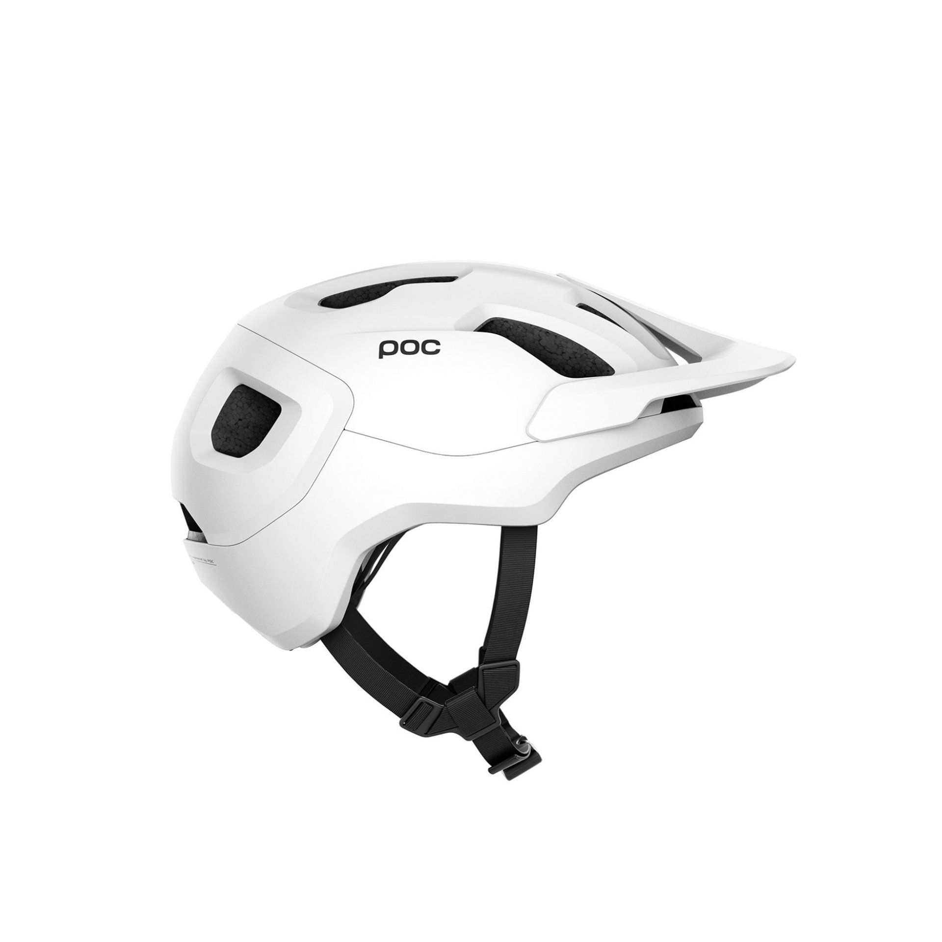 KASK ROWEROWY POC AXION SPIN MATT WHITE 3