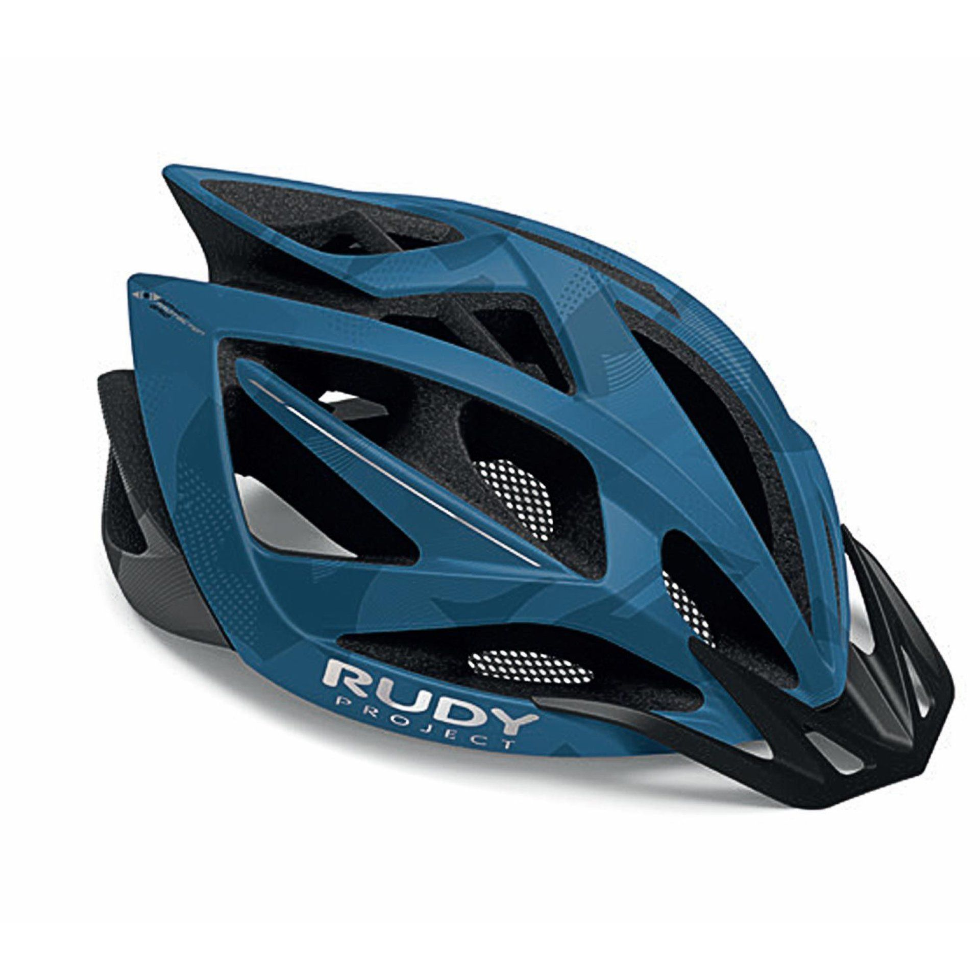 KASK ROWEROWY RUDY PROJECT AIRSTORM MTB BLUE|TITANIUM CAMO HL540161