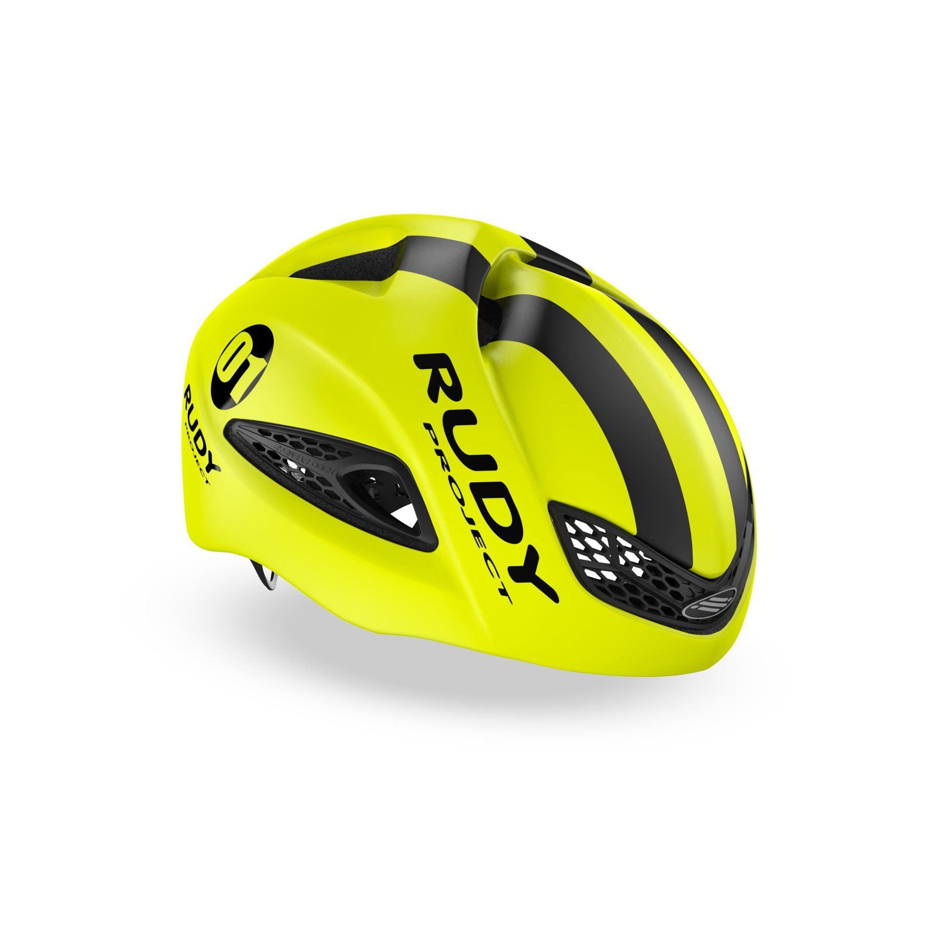 KASK ROWEROWY RUDY PROJECT BOOST 01 YELLOW FLUO|BLACK HL600061