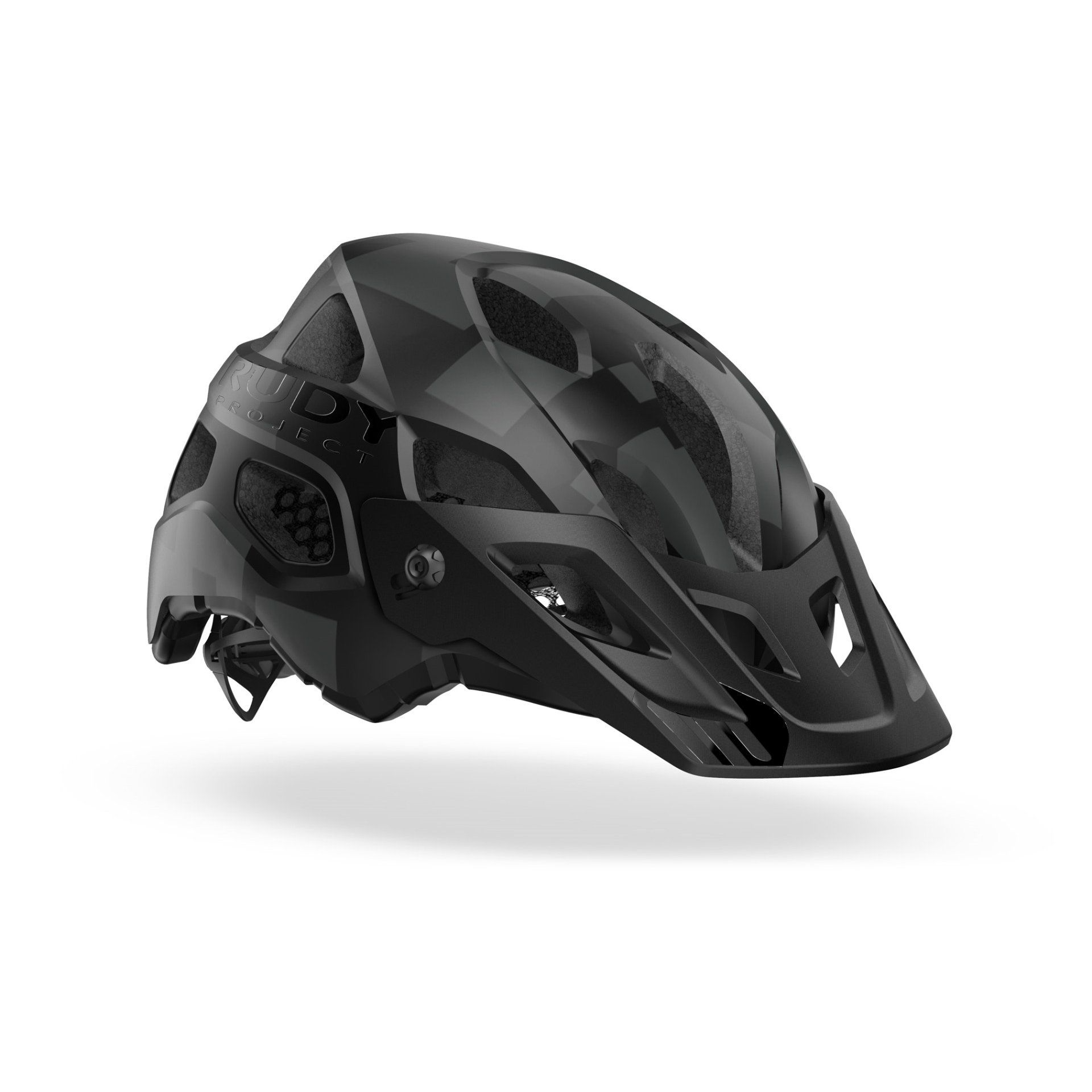 KASK ROWEROWY RUDY PROJECT PROTERA PLUS BLACK STEALTH HL800011