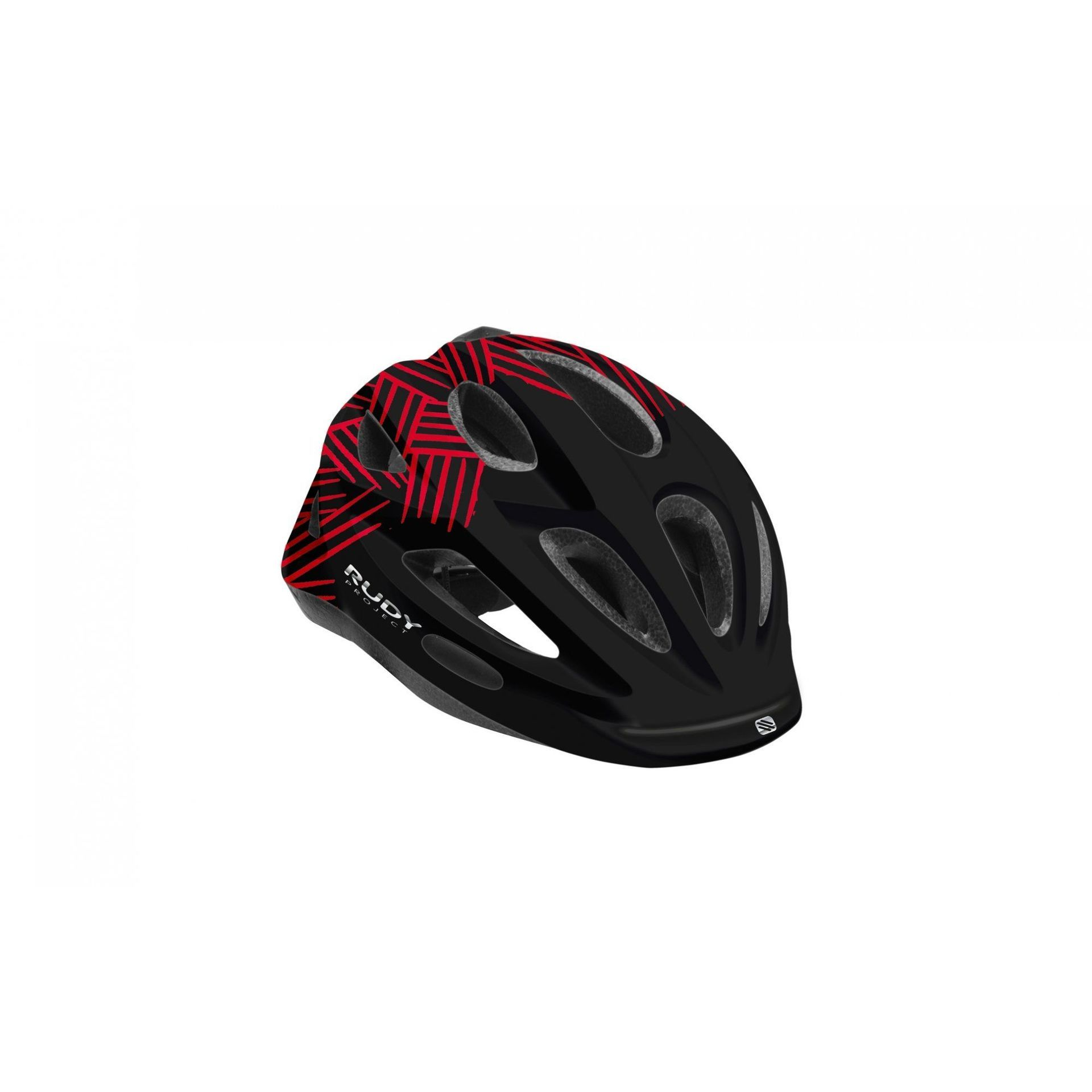 KASK ROWEROWY RUDY PROJECT ROCKY BLACK|RED HL700031