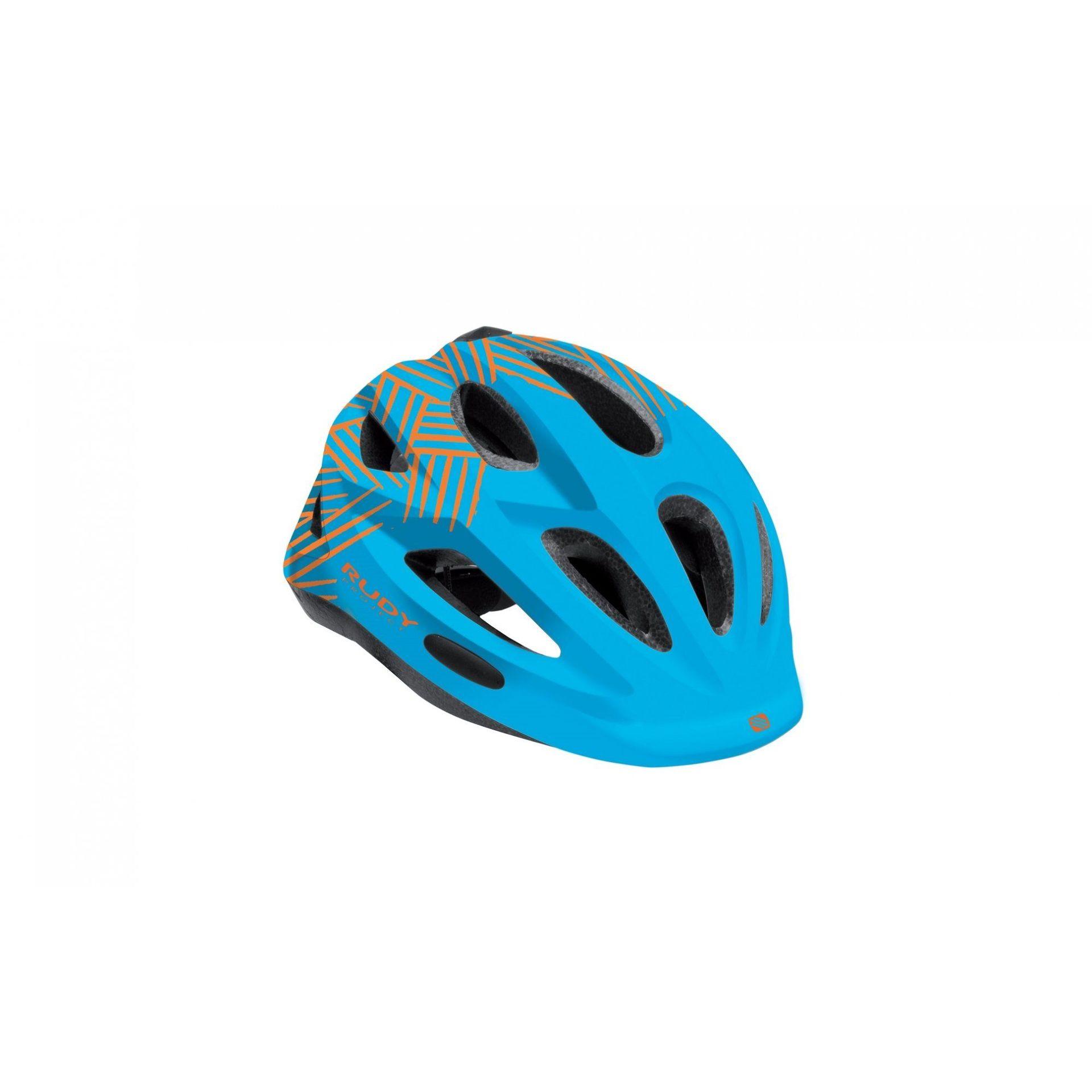 KASK ROWEROWY RUDY PROJECT ROCKY BLUE|ORANGE HL700051
