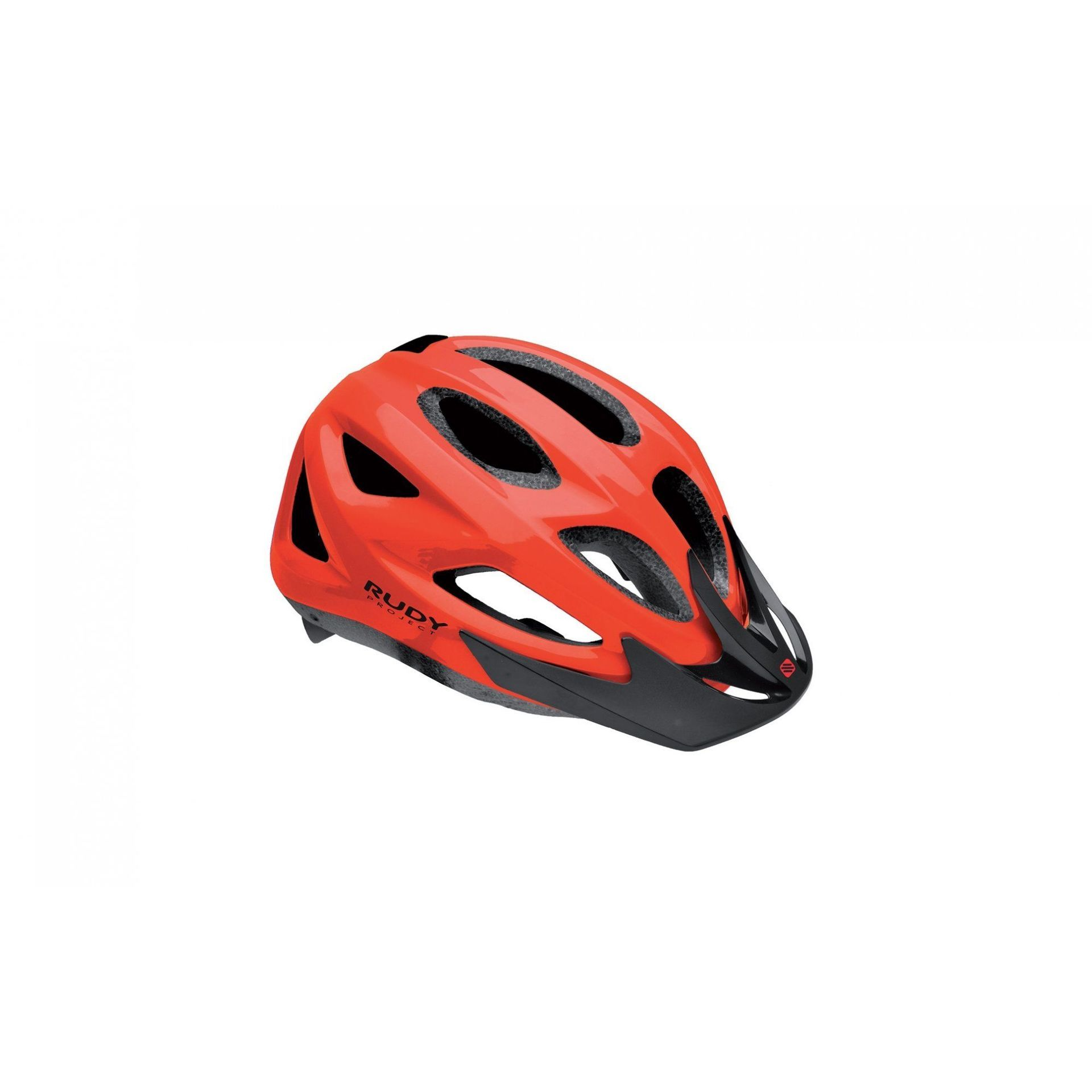 KASK ROWEROWY RUDY PROJECT ROCKY VISOR RED HL700012