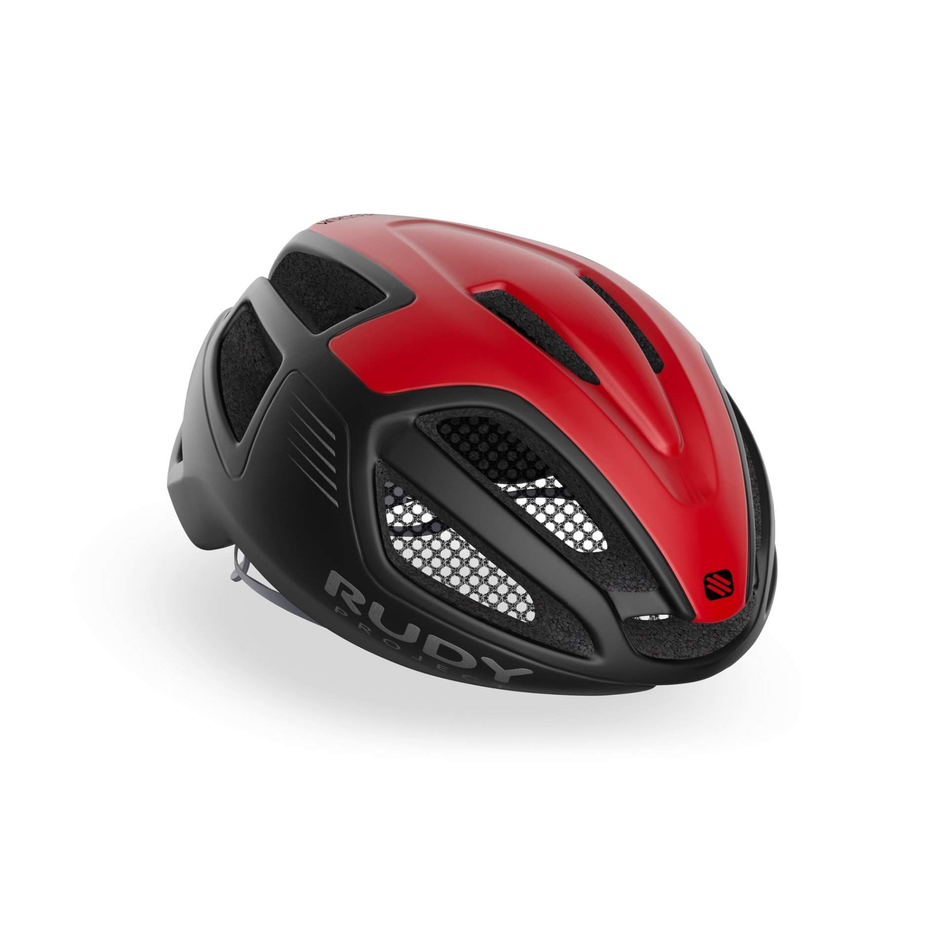 KASK ROWEROWY RUDY PROJECT SPECTRUM RED|BLACK MATTE HL650110
