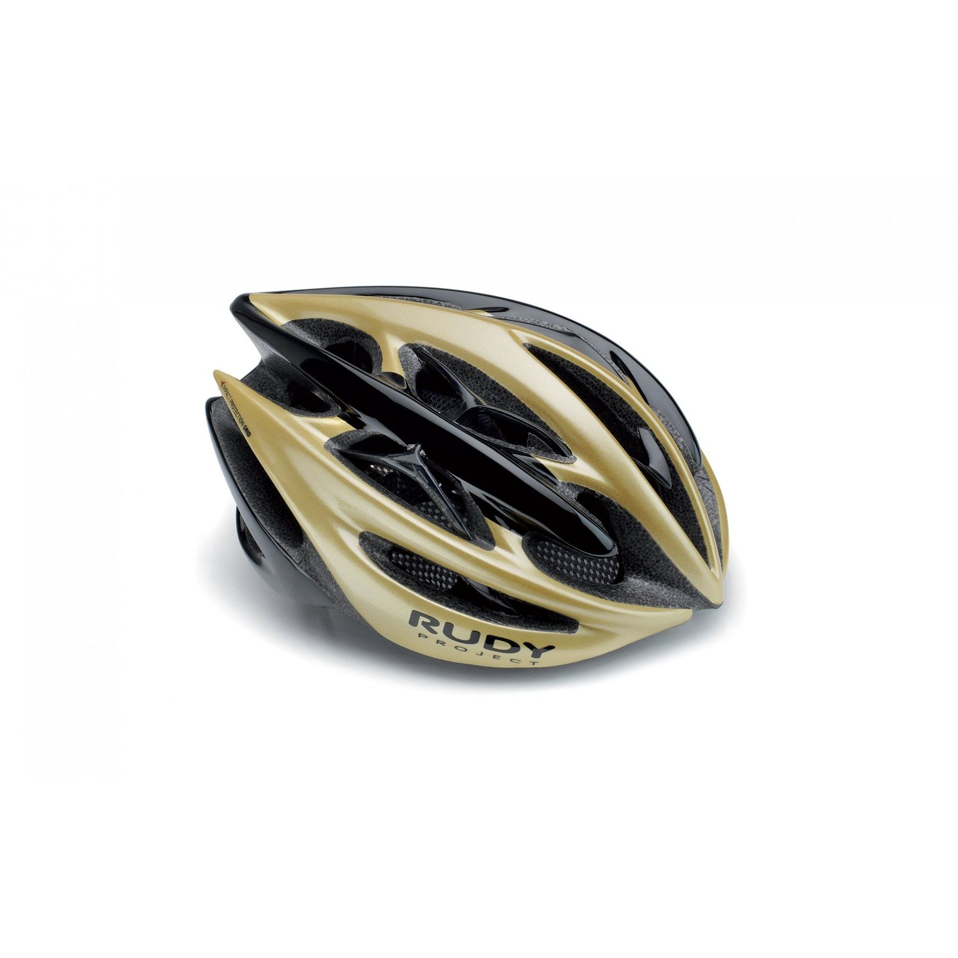 KASK ROWEROWY RUDY PROJECT STERLING+ GOLD|BLACK HL67005
