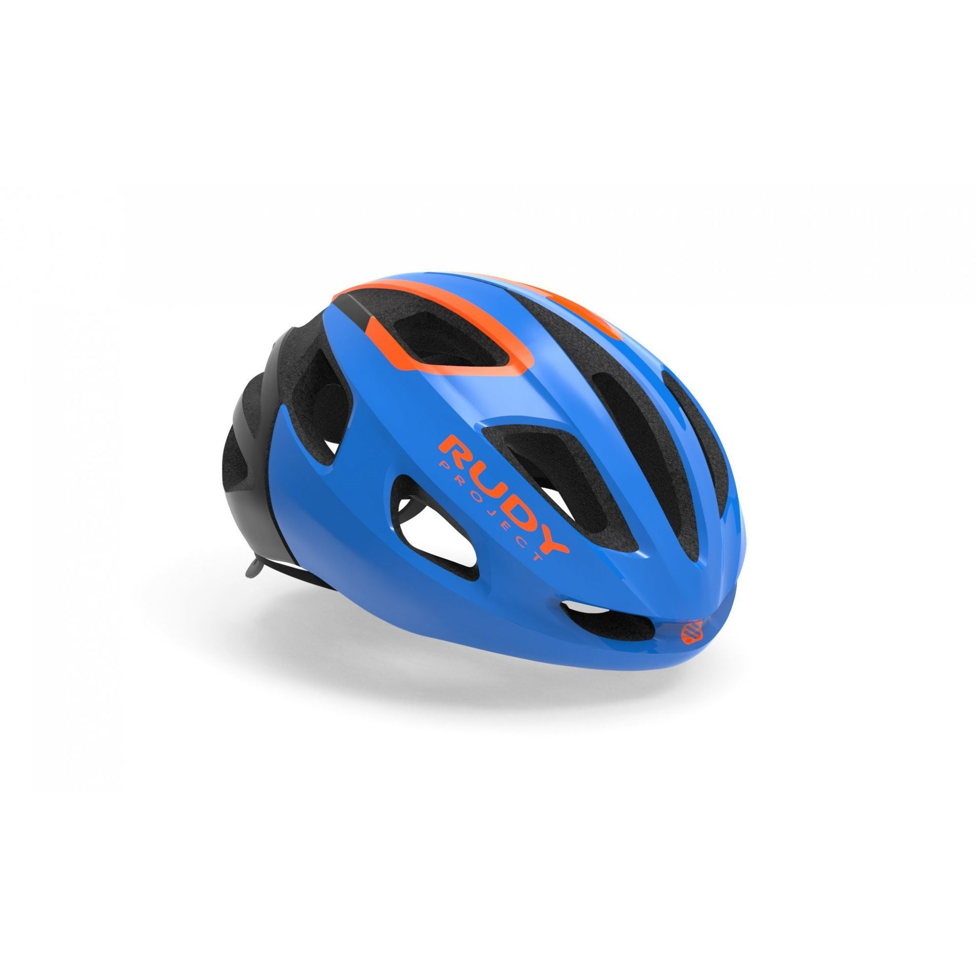 KASK ROWEROWY RUDY PROJECT STRYM BLUE|ORANGE HL64006 1