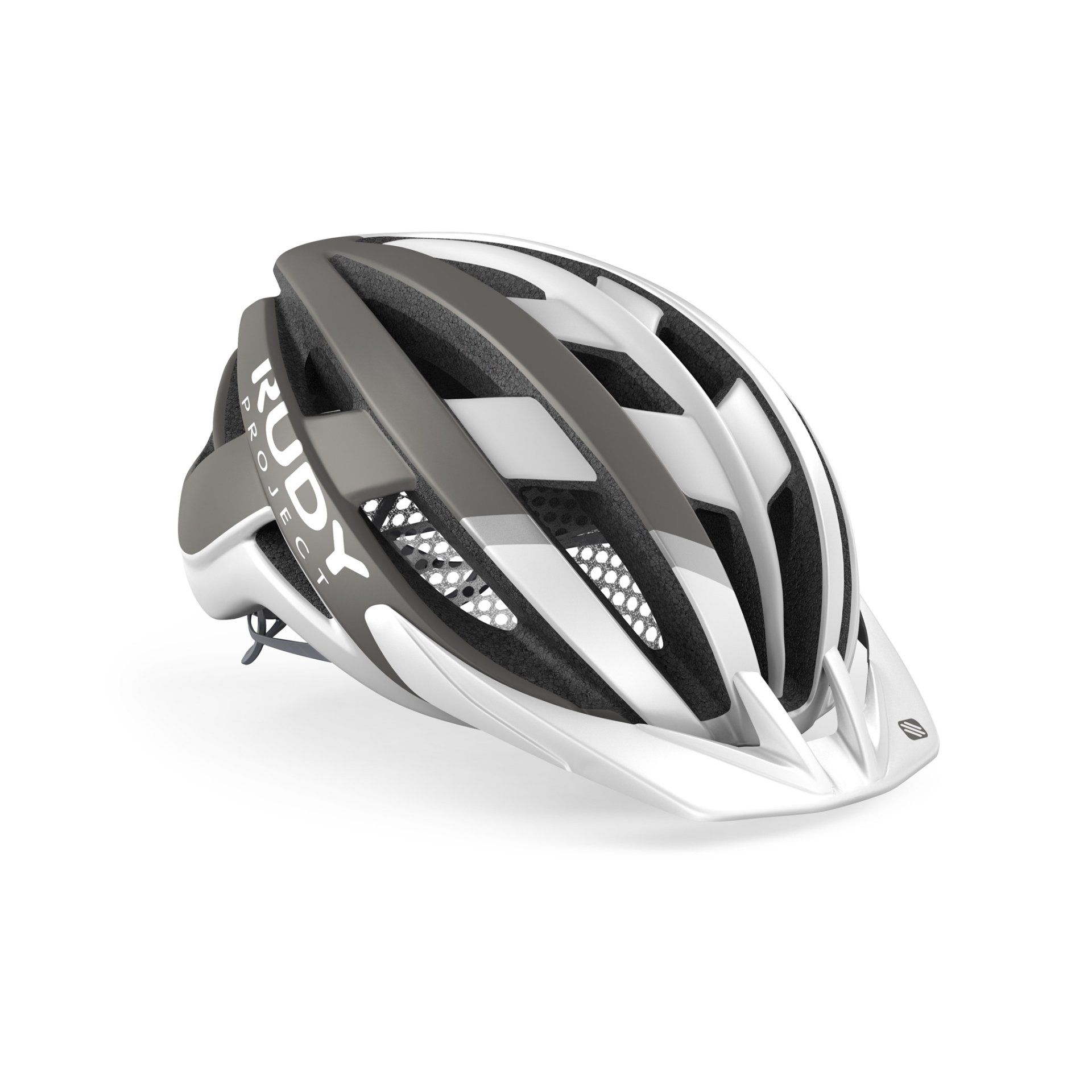 KASK ROWEROWY RUDY PROJECT VENGER CROSS WHITE|GREY HL660000