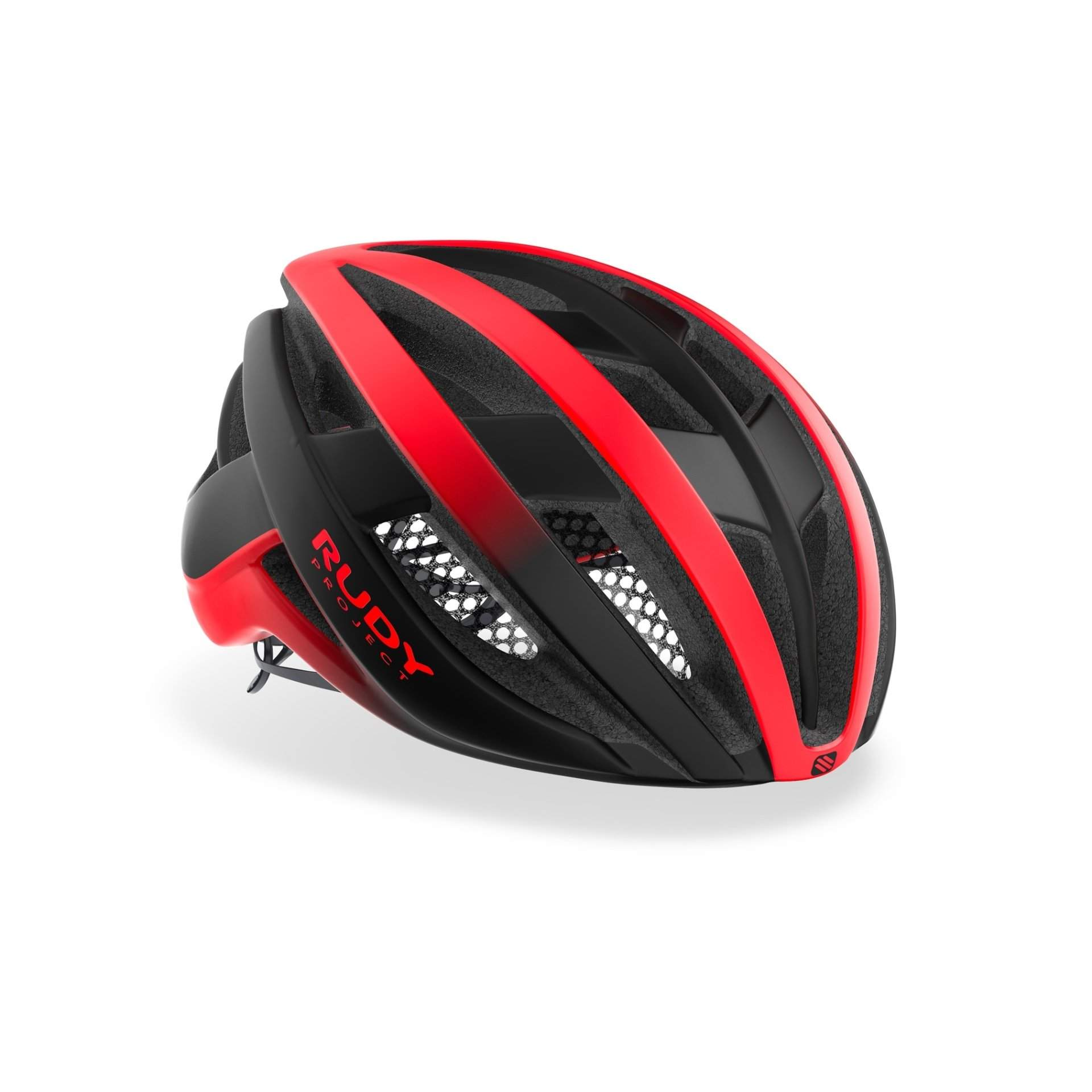 KASK ROWEROWY RUDY PROJECT VENGER RED BLACK MATTE HL660150