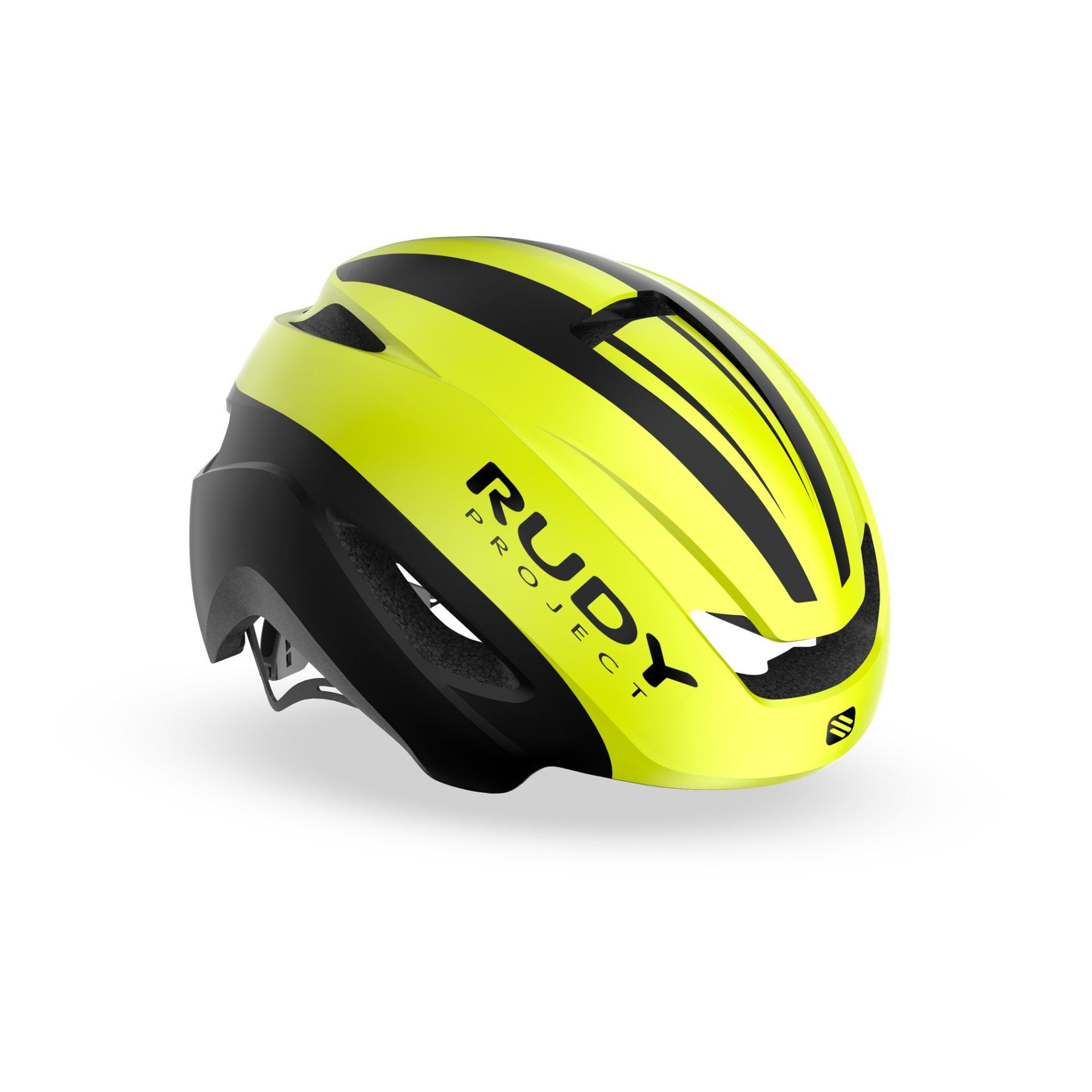 KASK ROWEROWY RUDY PROJECT VOLANTIS YELLOW FLUO|BLACK HL750031