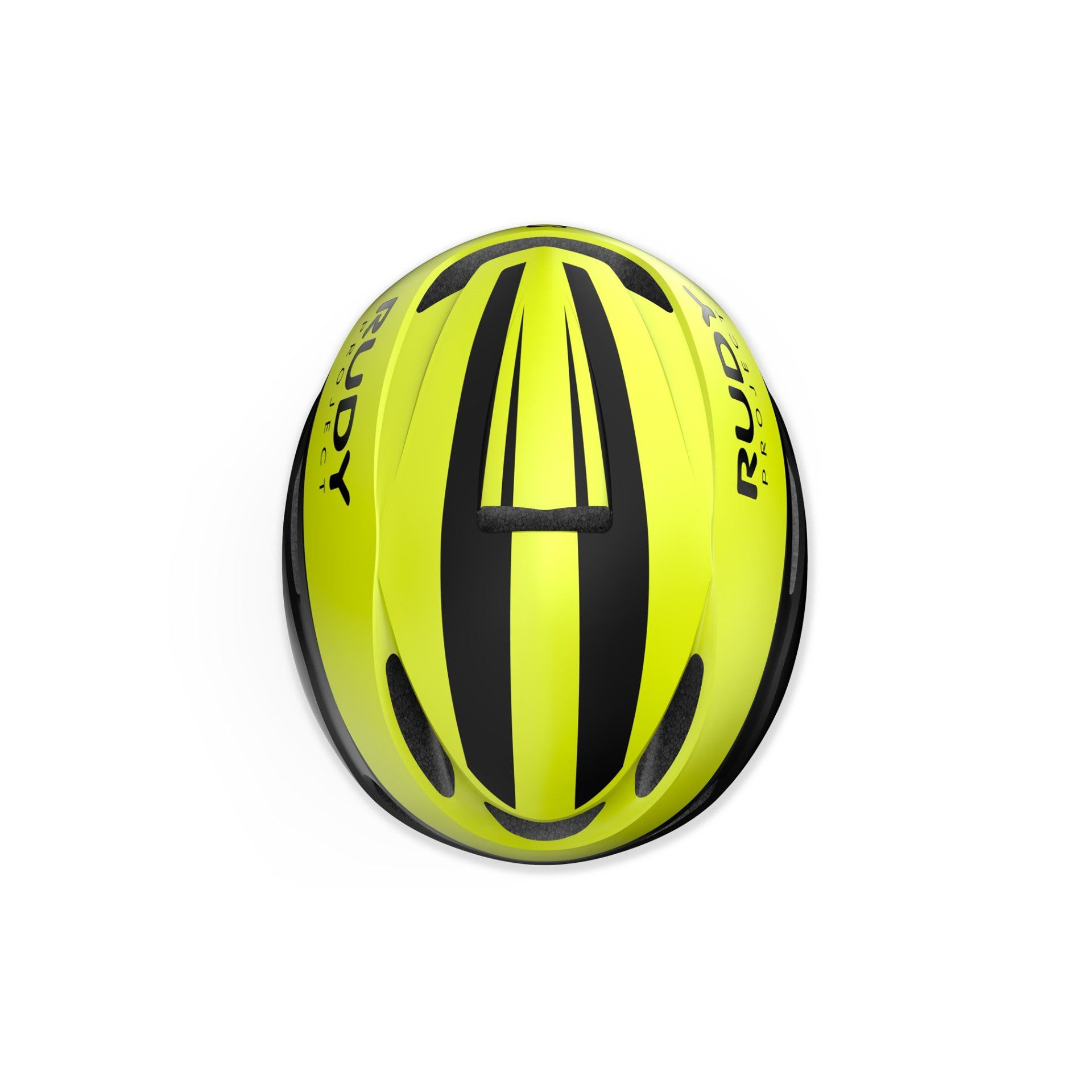 KASK ROWEROWY RUDY PROJECT VOLANTIS YELLOW FLUO|BLACK HL750031 GÓRA